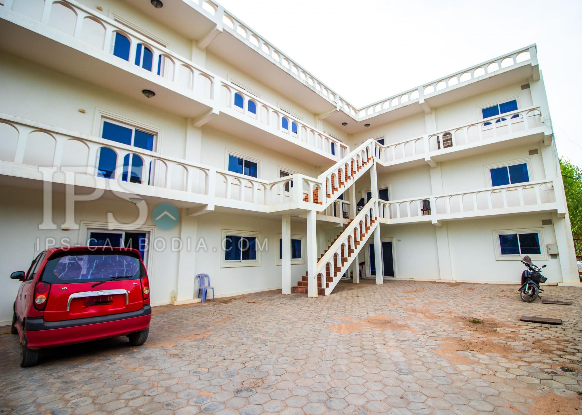 8 Unit Apartment Building For Sale - Sra Ngae, Siem Reap