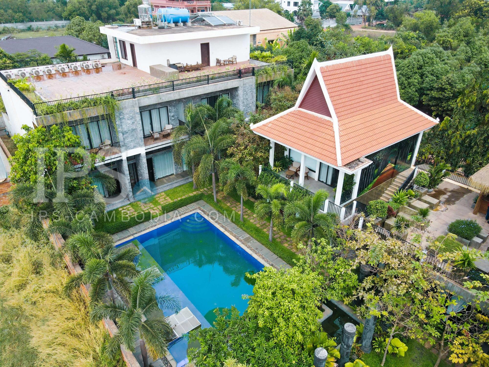 10 Bedroom Hotel For Sale - Chreav, Siem Reap