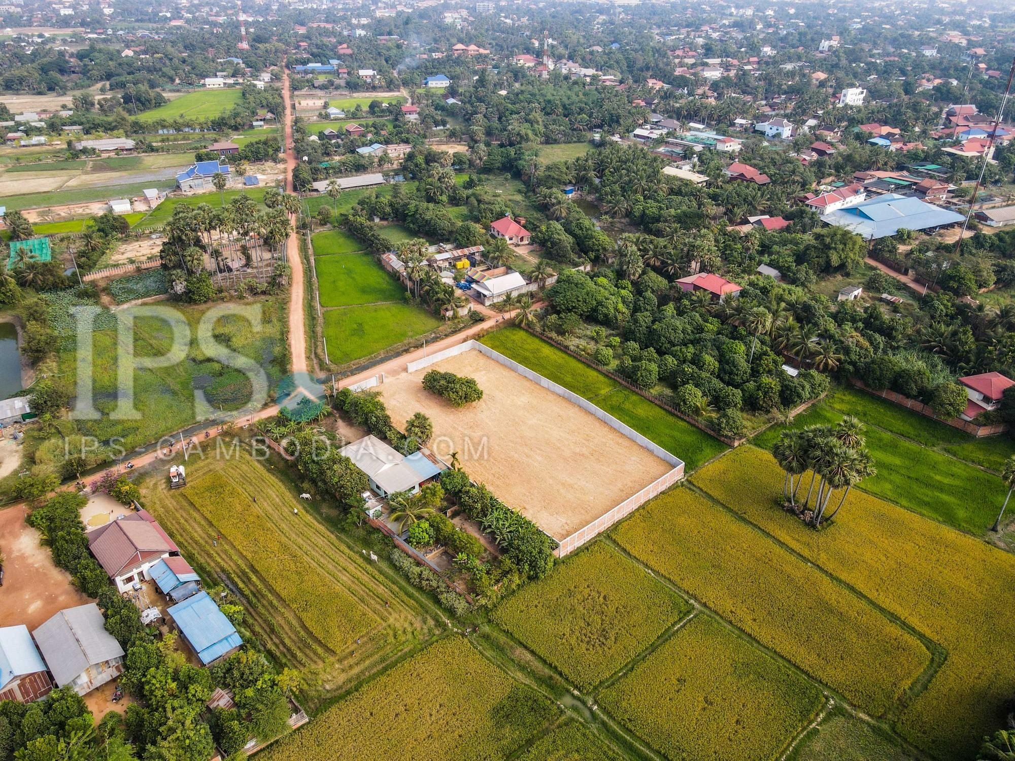 2837 Sqm Land For Sale - Wat Athvea, Siem Reap