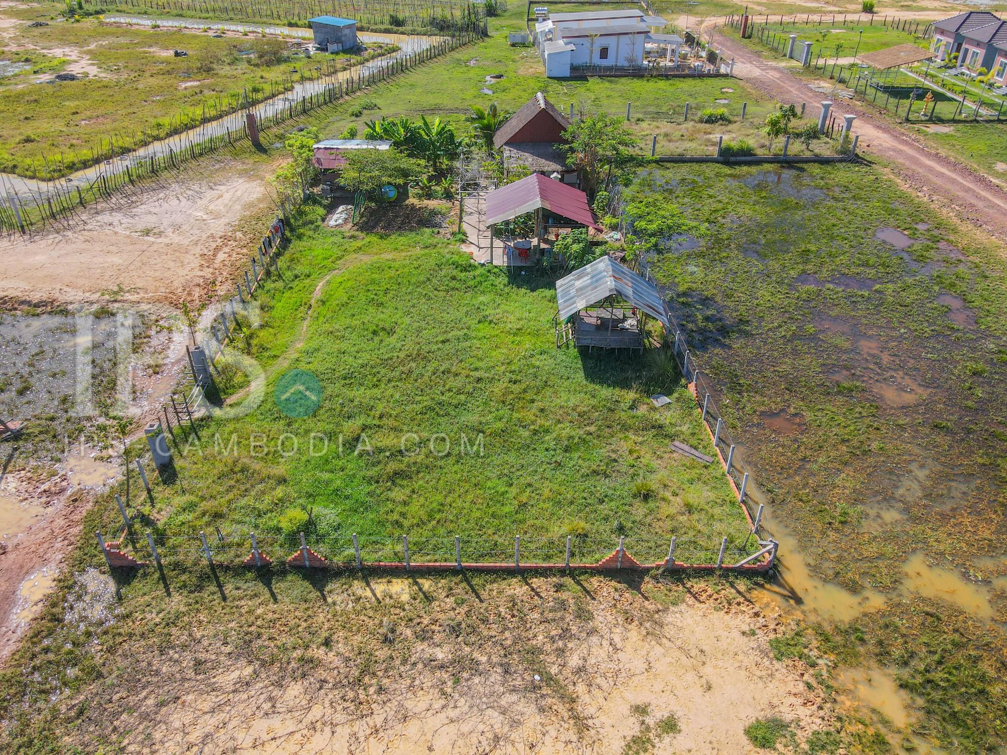 400 Sqm Land For Sale - Krabi Riel, Siem Reap