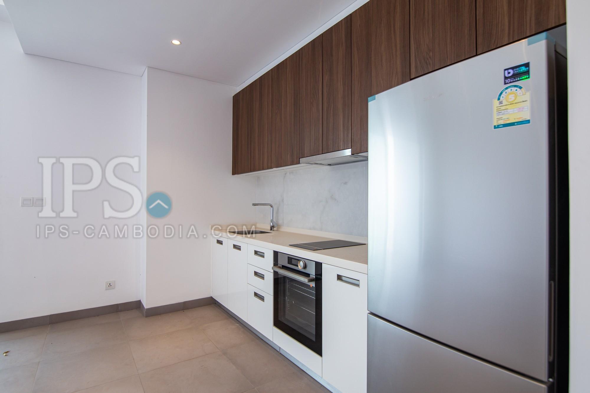Unfurnished Duplex 2 Bedroom For Rent- Embassy Central-BKK1