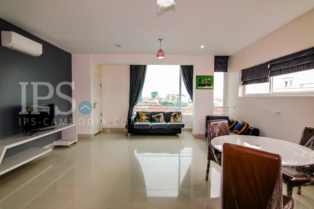 1 Bedroom Apartment For Rent - Toul Kork, Phnom Penh