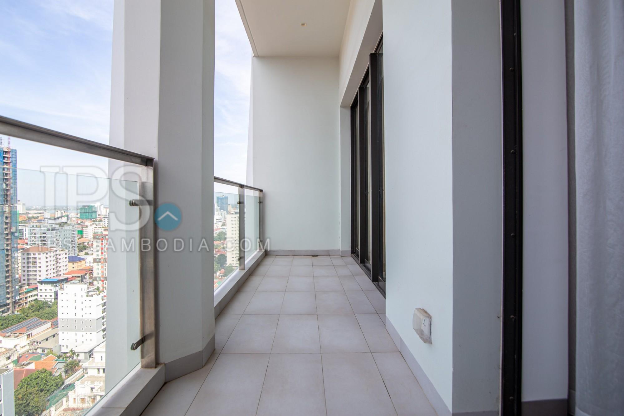 1 Bedroom Apartment For Rent - Embassy Central, BKK1, Phnom Penh