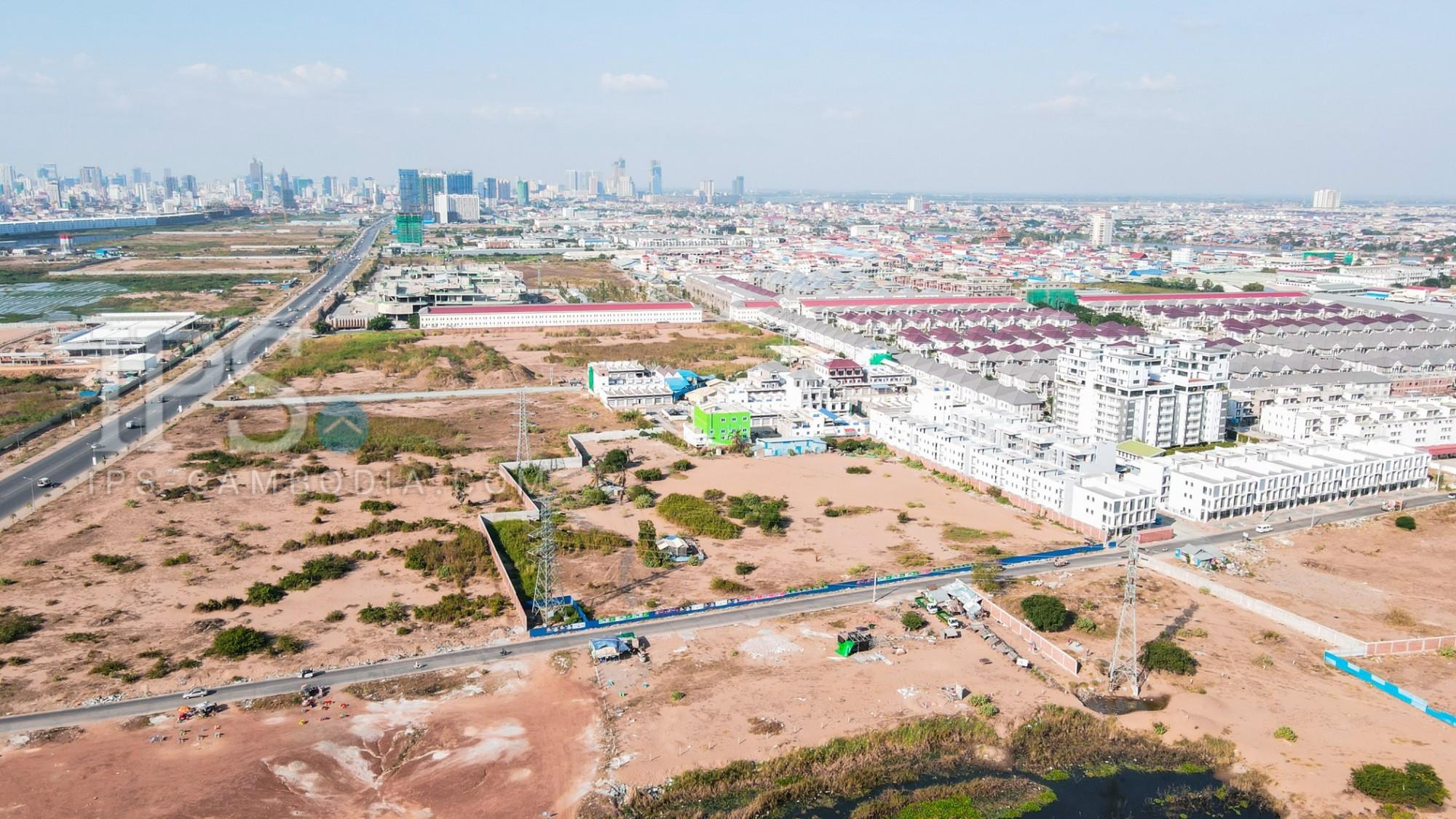 9000 Sqm Land For Lease - Hun Sen Blvd, Phnom Penh