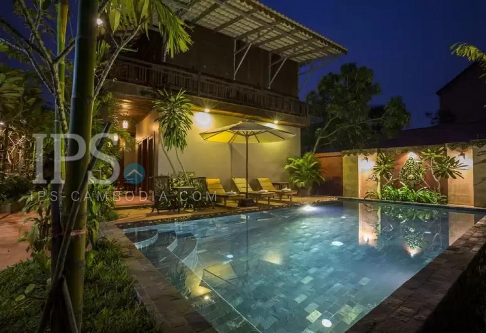 6 Bedroom  Boutique For Rent - Svay Dangkum, Siem Reap