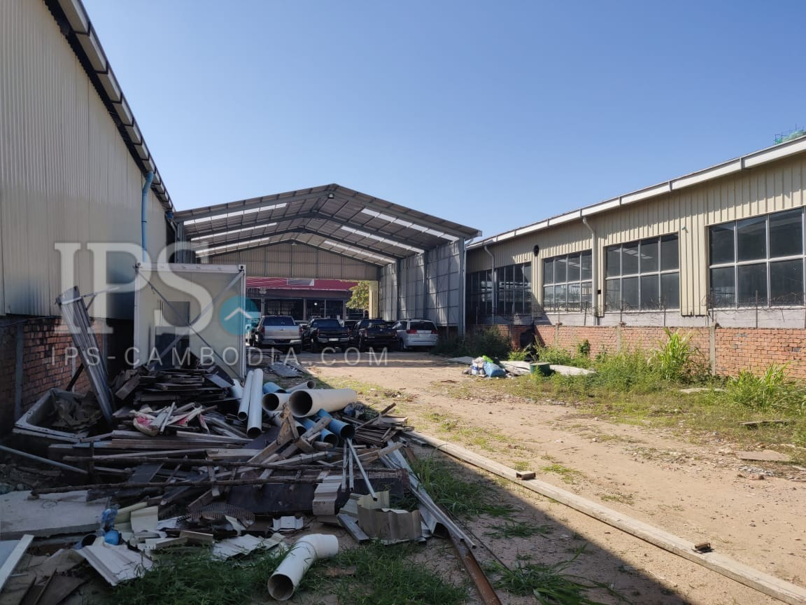 1377 Sqm Warehouse For Rent - Sen Sok, Phnom Penh