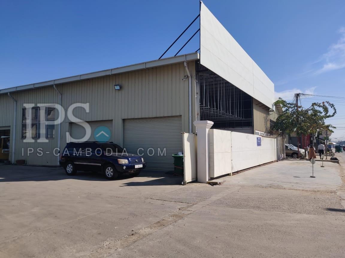 760 Sqm Warehouse For Rent - Sen Sok, Phnom Penh
