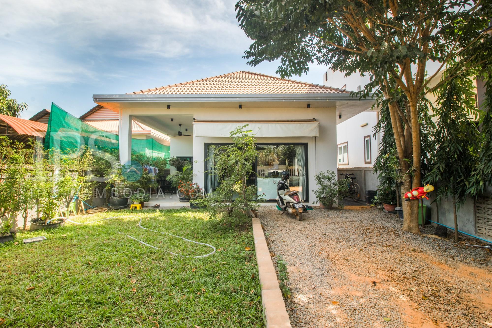 2 Bedroom western-style villa For Sale - Kor Kranh, Siem Reap