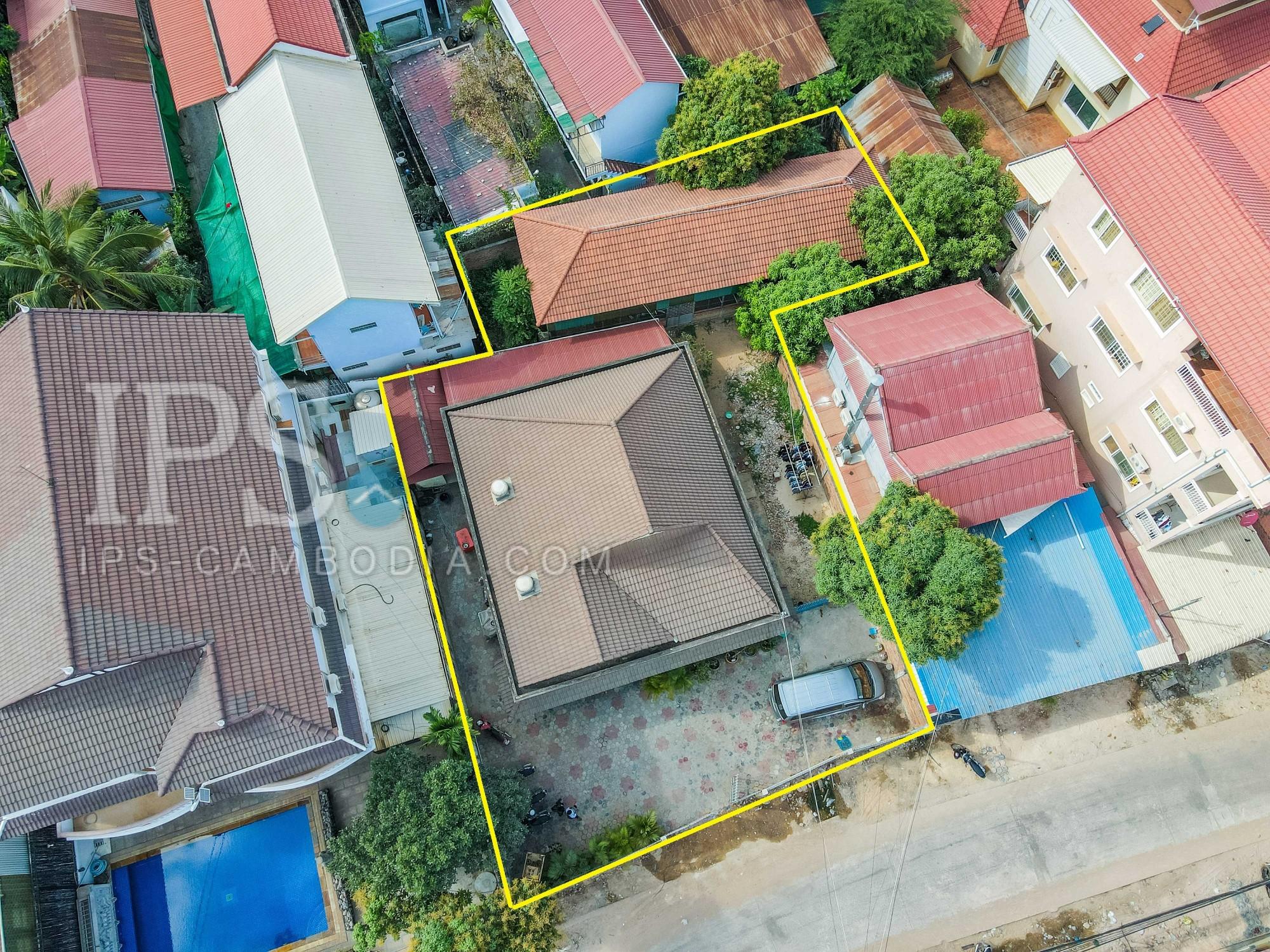 3 Bedroom House For Sale - Night Market Area, Siem Reap
