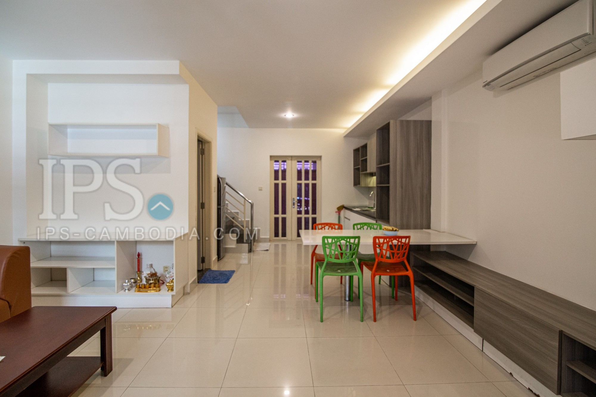 2 Bedroom Twin Villa For Rent - Borey Peng Huoth Boeng Snor, Phnom Penh