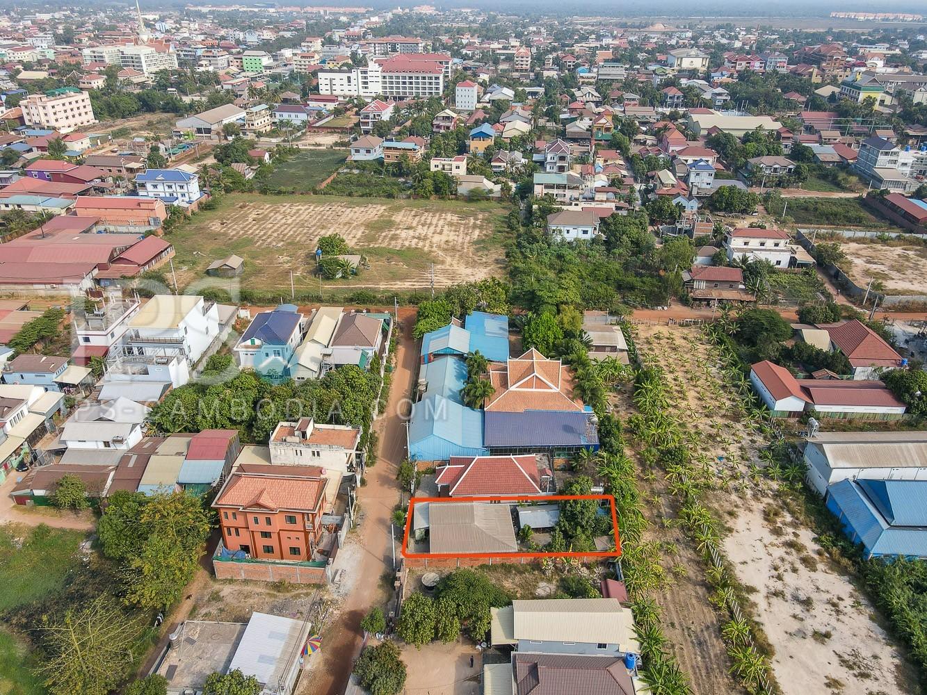210 Sqm Land For Sale in Sala Kamreuk - Behind Phar Ler Market , Siem Reap