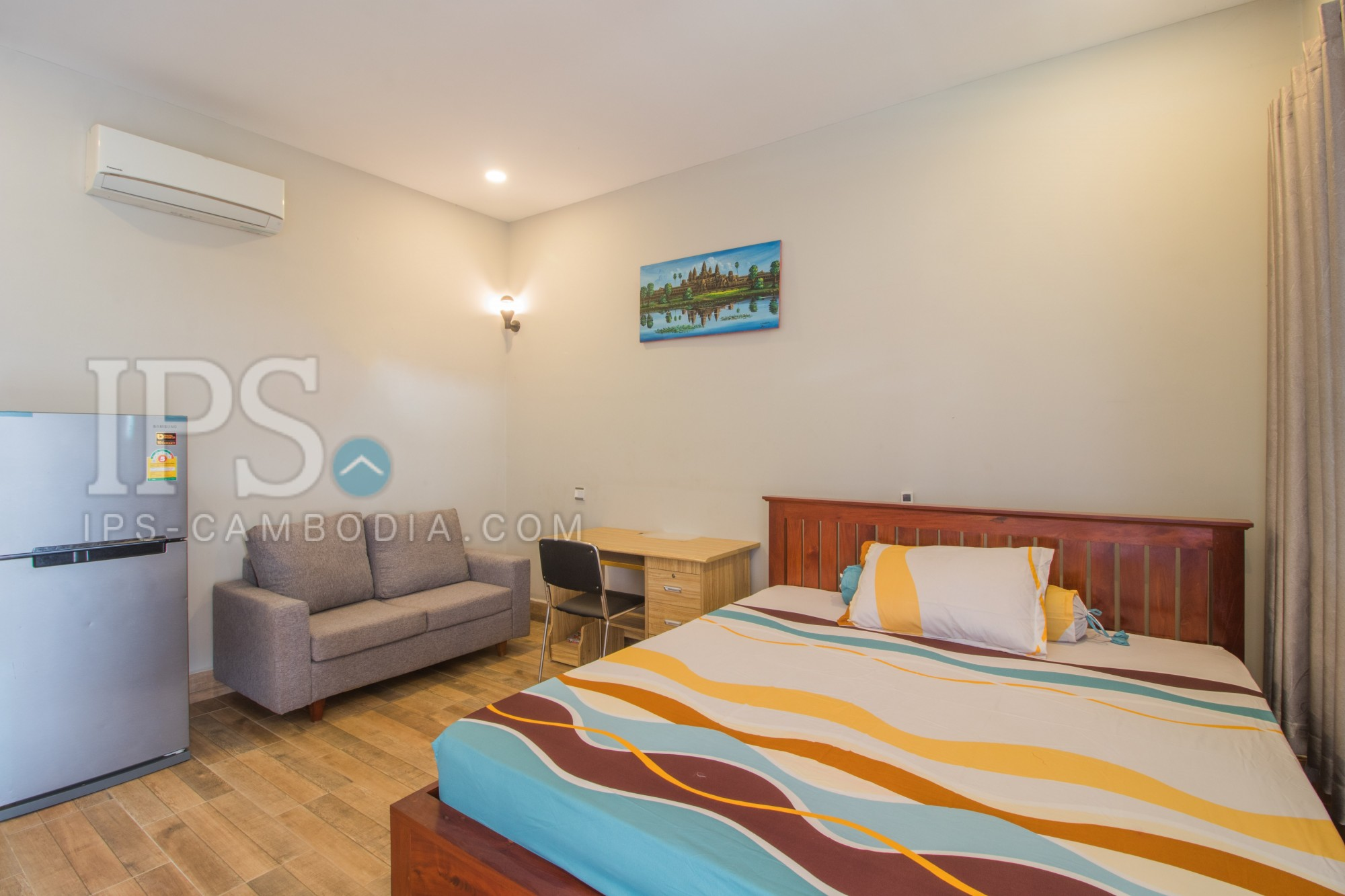 1 Bed Studio Apartment For Rent - Night Market Area, Siem Reap