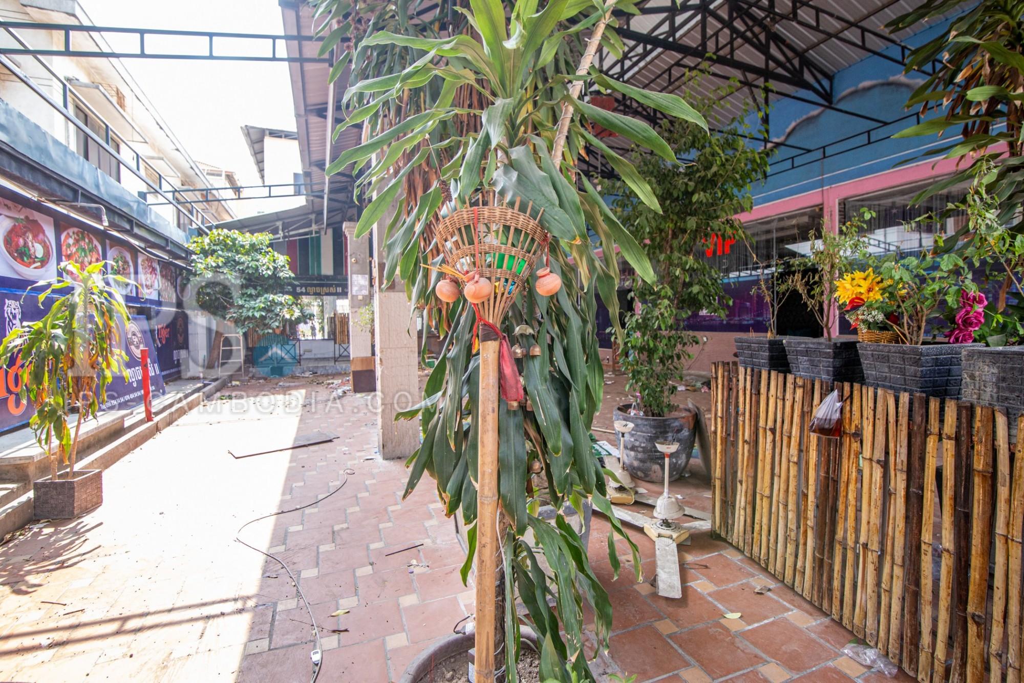 500 Sqm Commercial Space For Rent - BKK1, Chamkarmorn, Phnom Penh