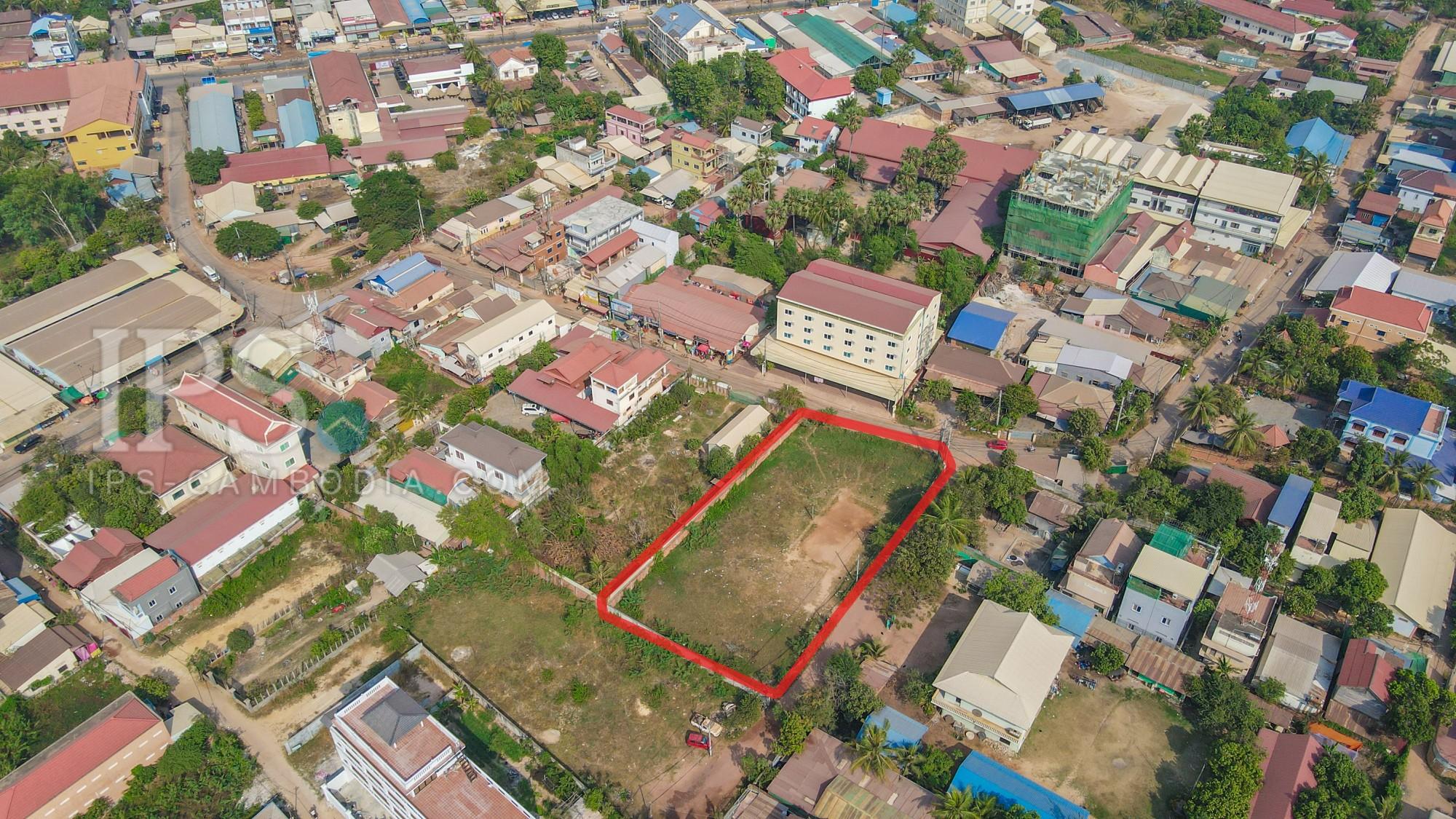 1767 Sqm Residential Land For Sale - Sala Kamreuk, Siem Reap