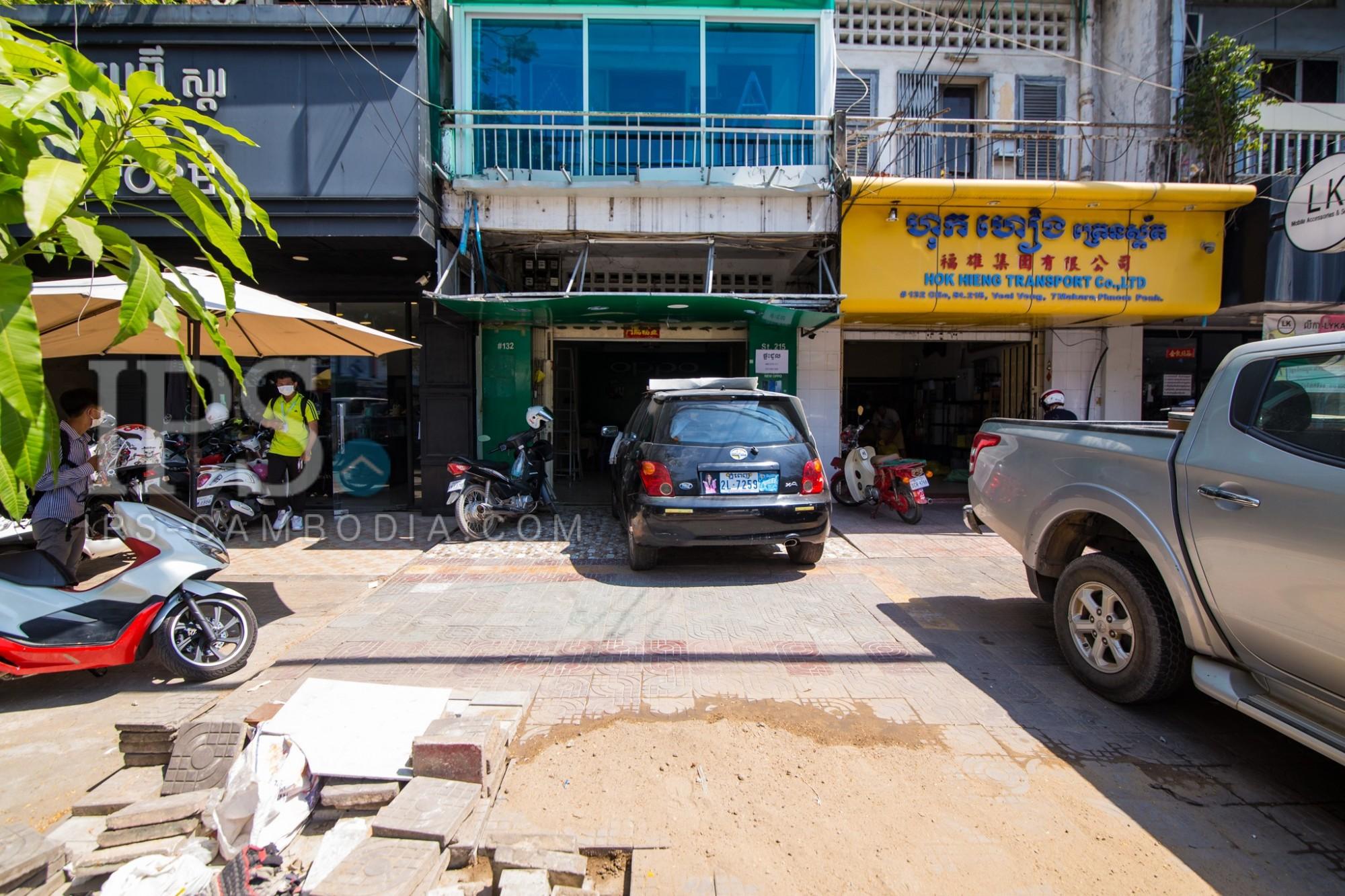 Ground Floor Shophouse For Rent - Phsar Depou 3,  Phnom Penh