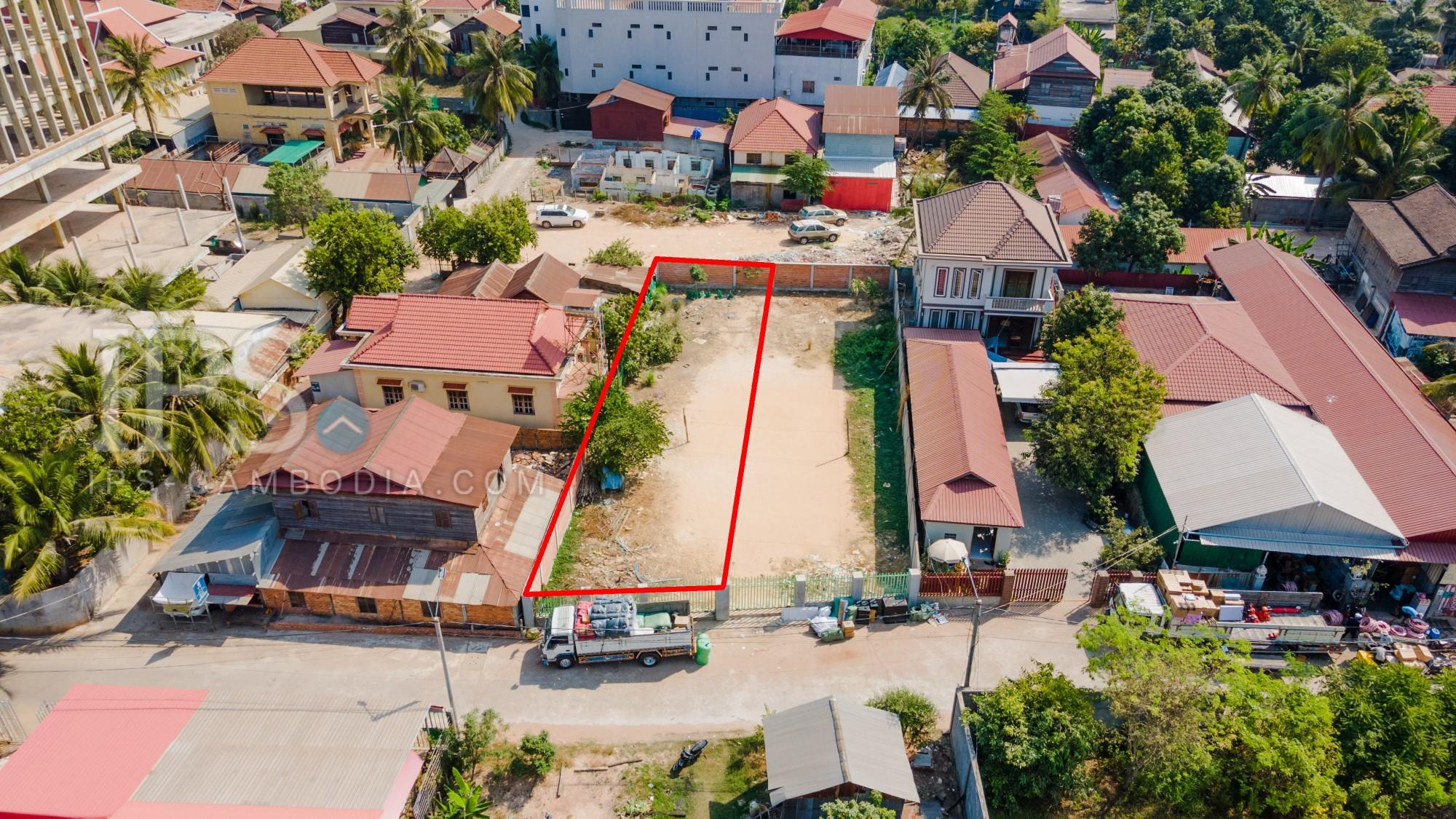 351 Sqm Residential Land For Sale - Slor Kram, Siem Reap