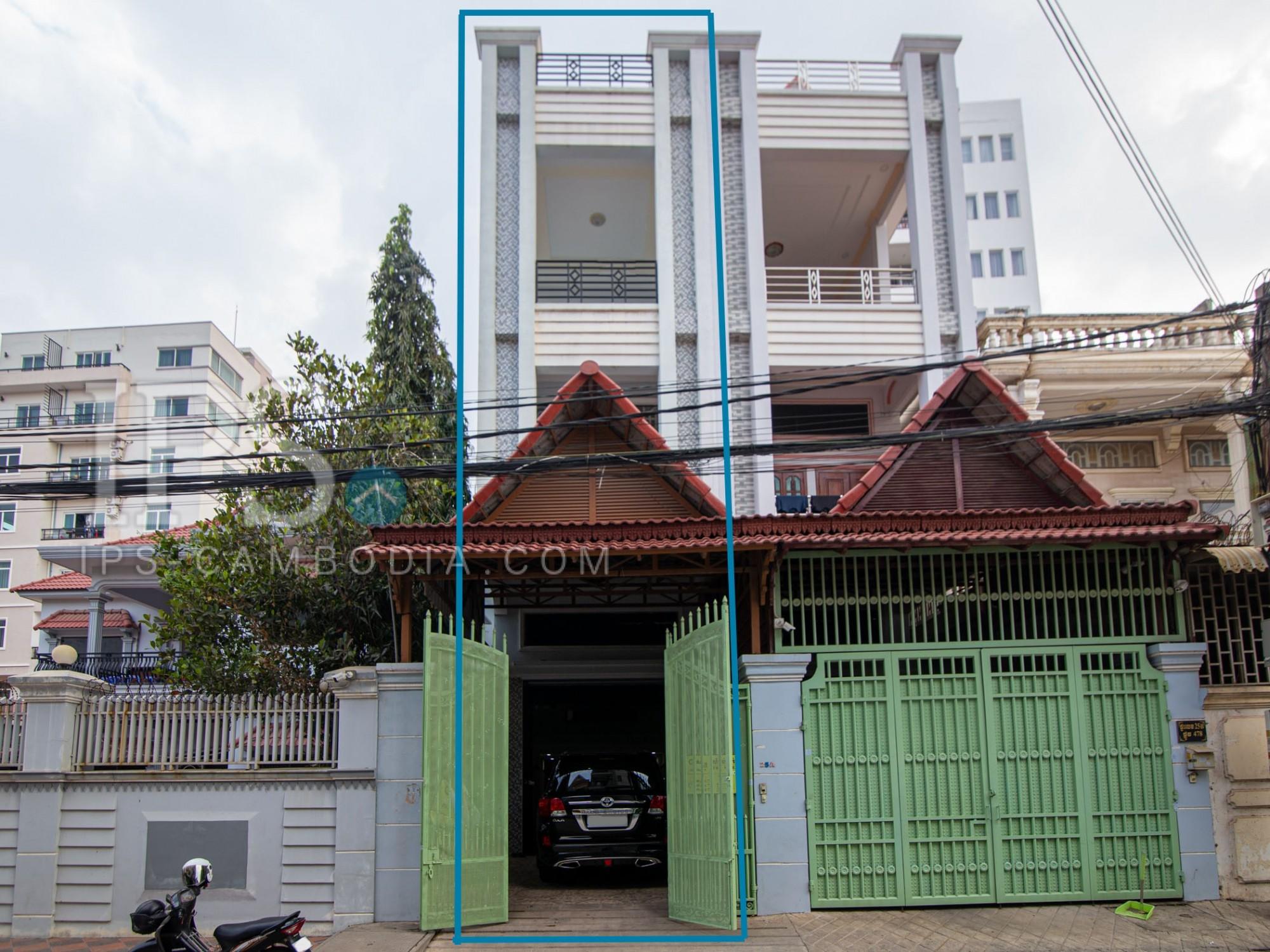 7 Bedroom Twin Villa For Sale - Toul Tum Poung 1, Chamkarmorn, Phnom Penh