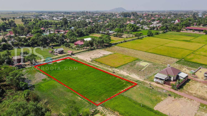 1957 Sqm Residential Land For Sale - Chreav, Siem Reap