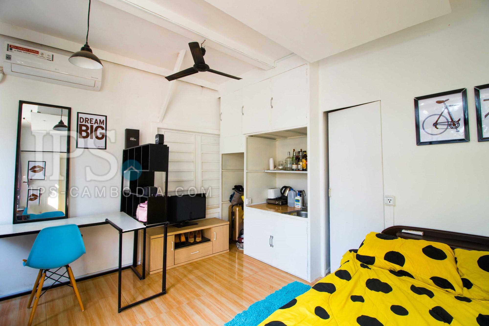 1 Bed Studio Room For Rent - Slor Kram, Siem Reap