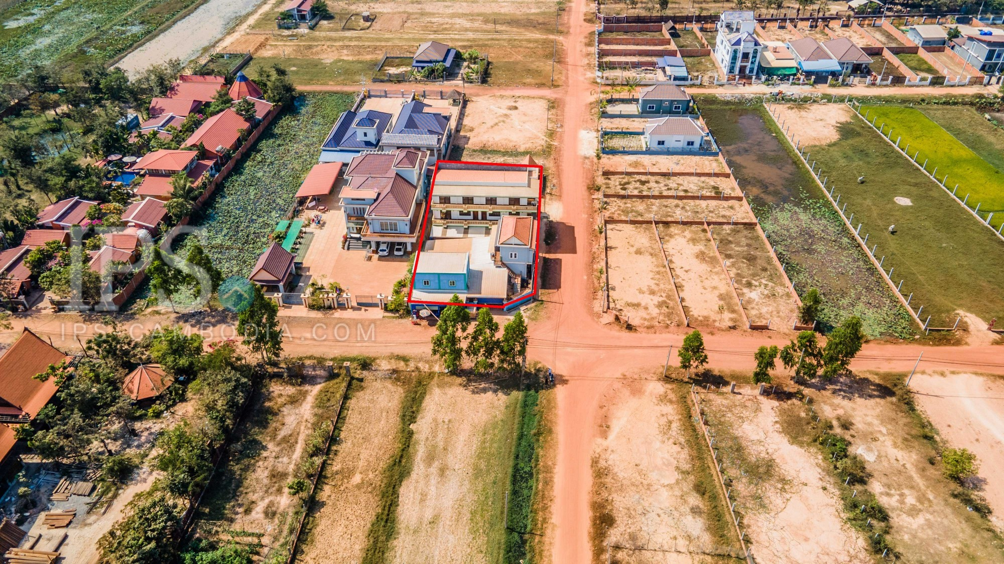 4 House Residential Compound For Sale - Svay Dangkum, Siem Reap