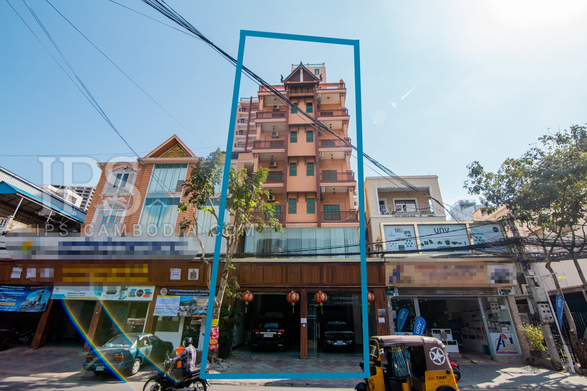 20 Room Building For Lease - Toul Tom Poung, Phnom Penh