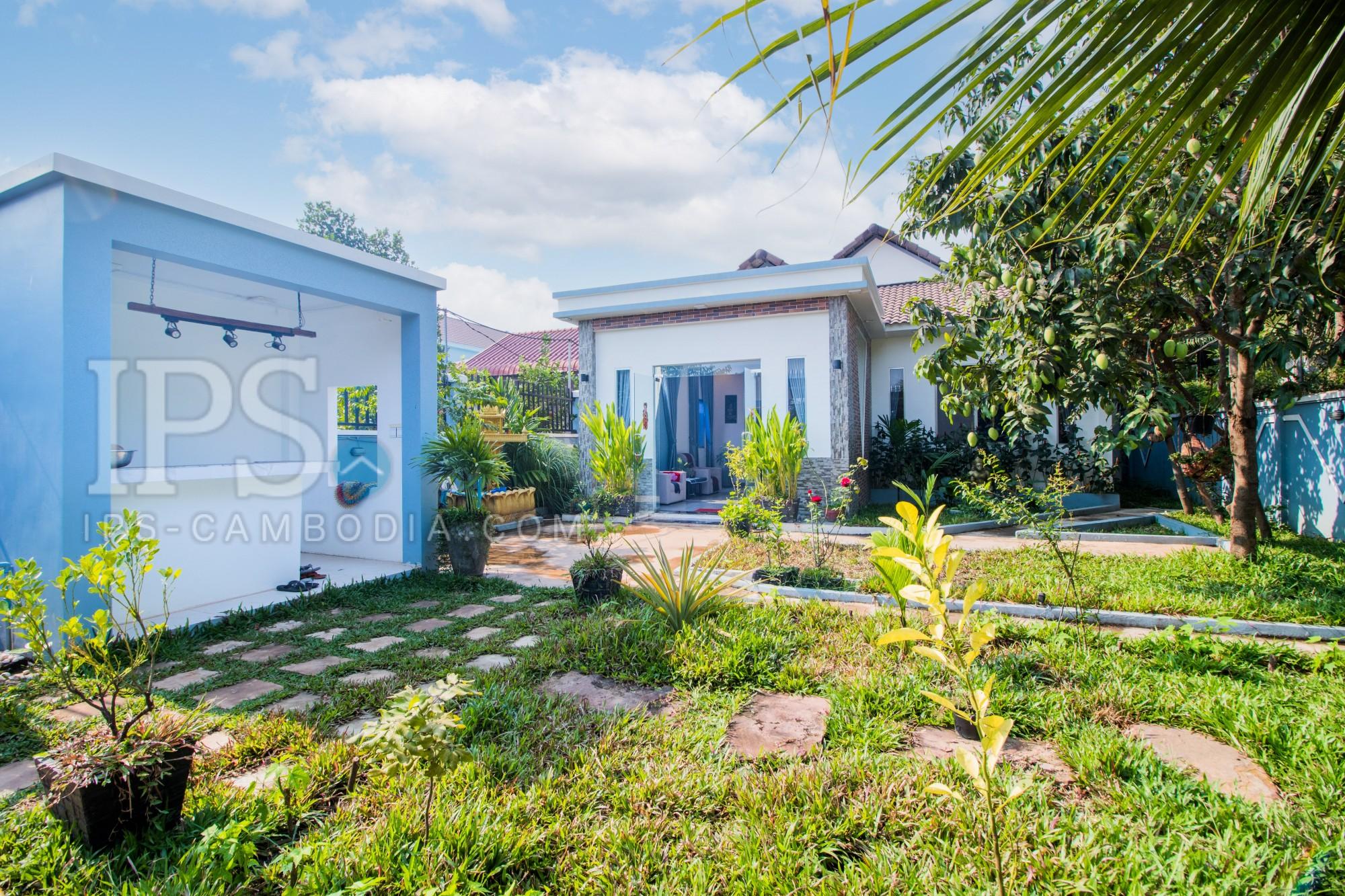 2 Bedroom Villa For Sale - Kouk Chak, Siem Reap