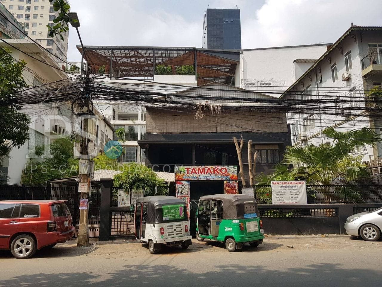 154 Sqm Retail Space For Rent - BKK1, Phnom Penh