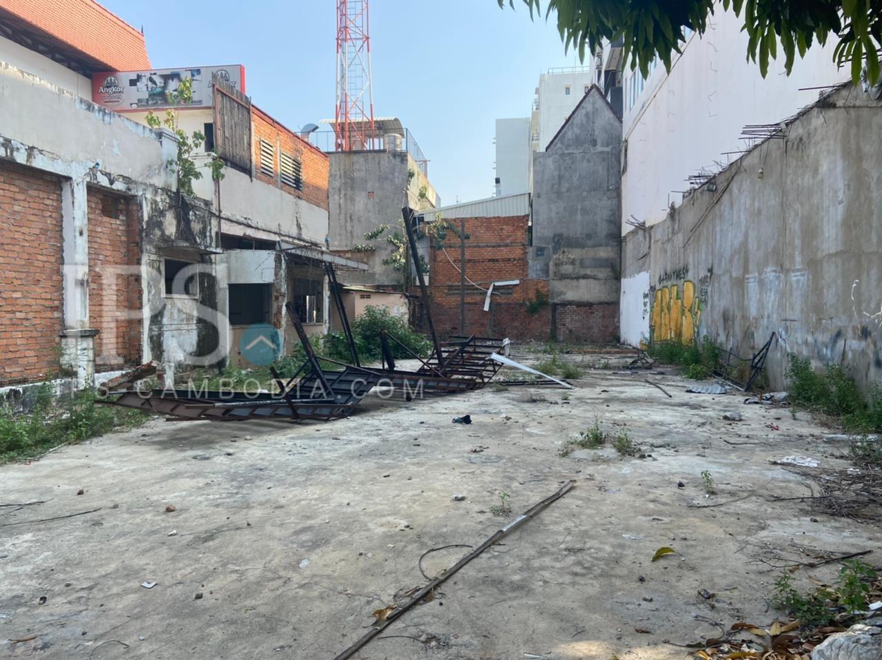 807 Sqm Land For Sale - BKK1, Phnom Penh