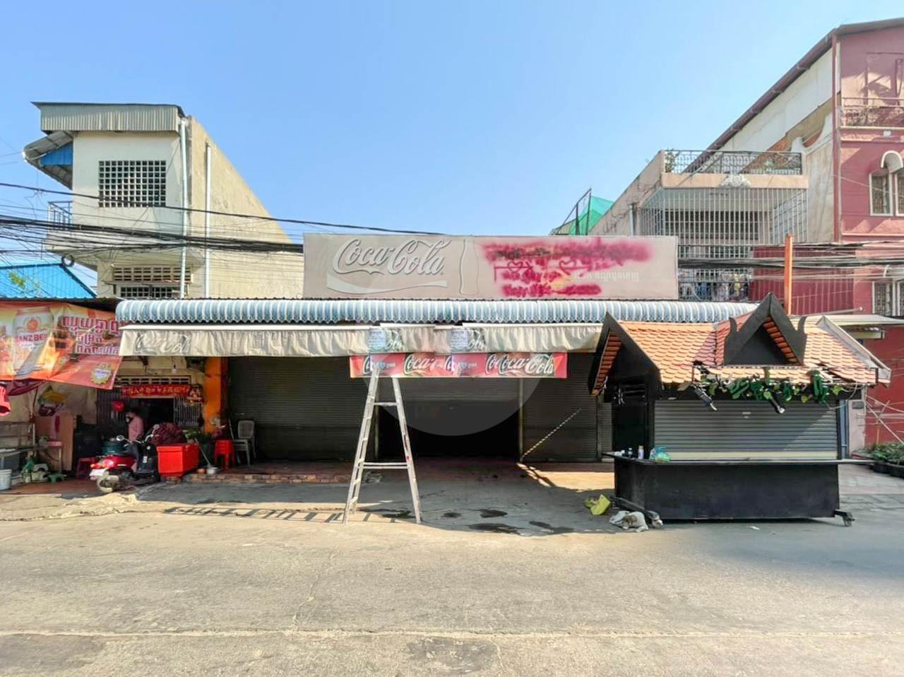 284 Sqm Commercial  Land For Rent - Wat Phnom, Phnom Penh