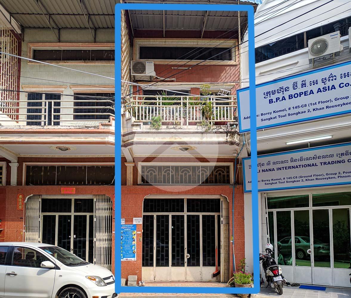 6 Bedroom Shophouse For Sale  - Toul Kork, Phnom Penh