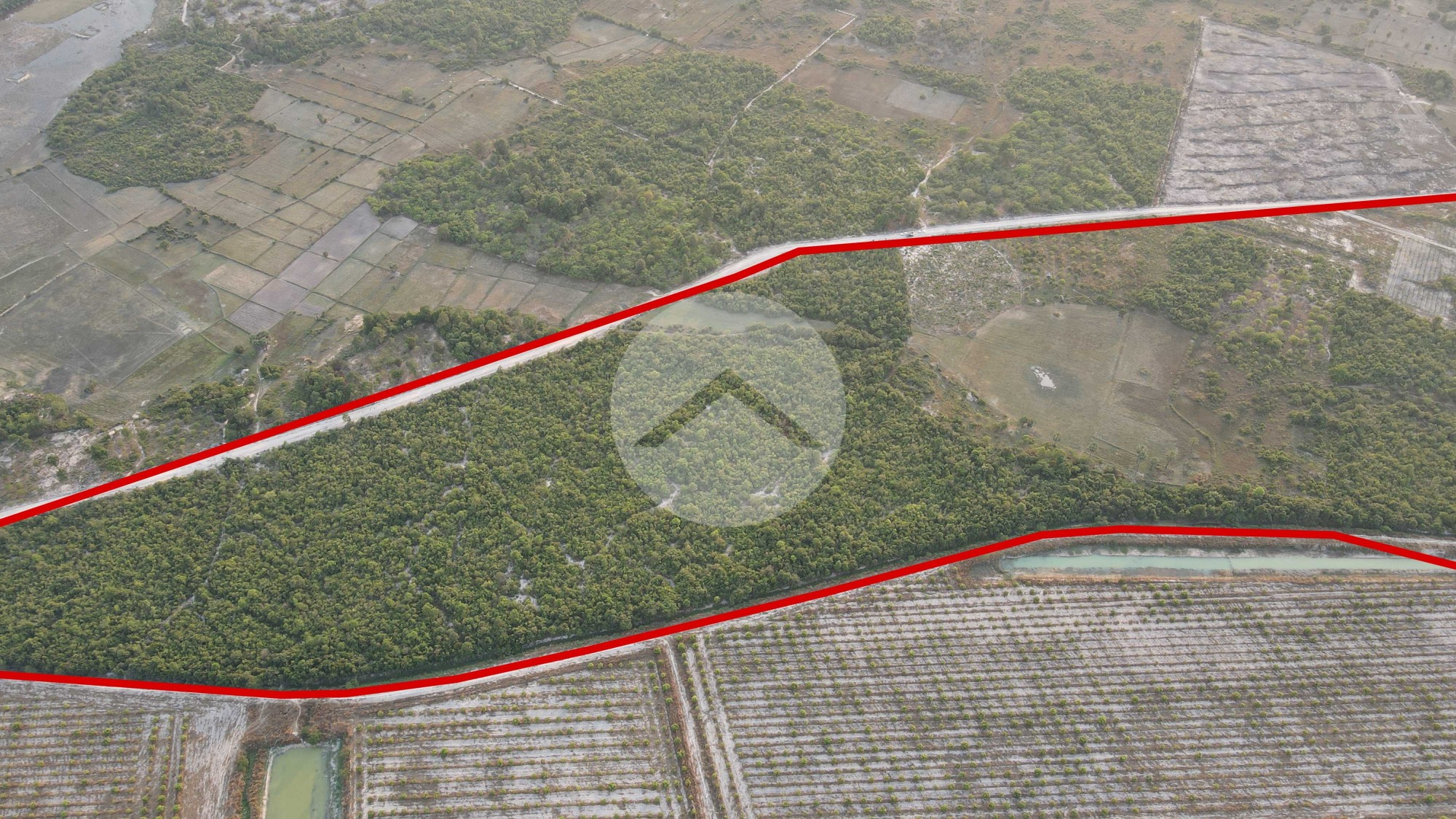 1 Hectare Land For Sale - Banteay Srei, Siem Reap