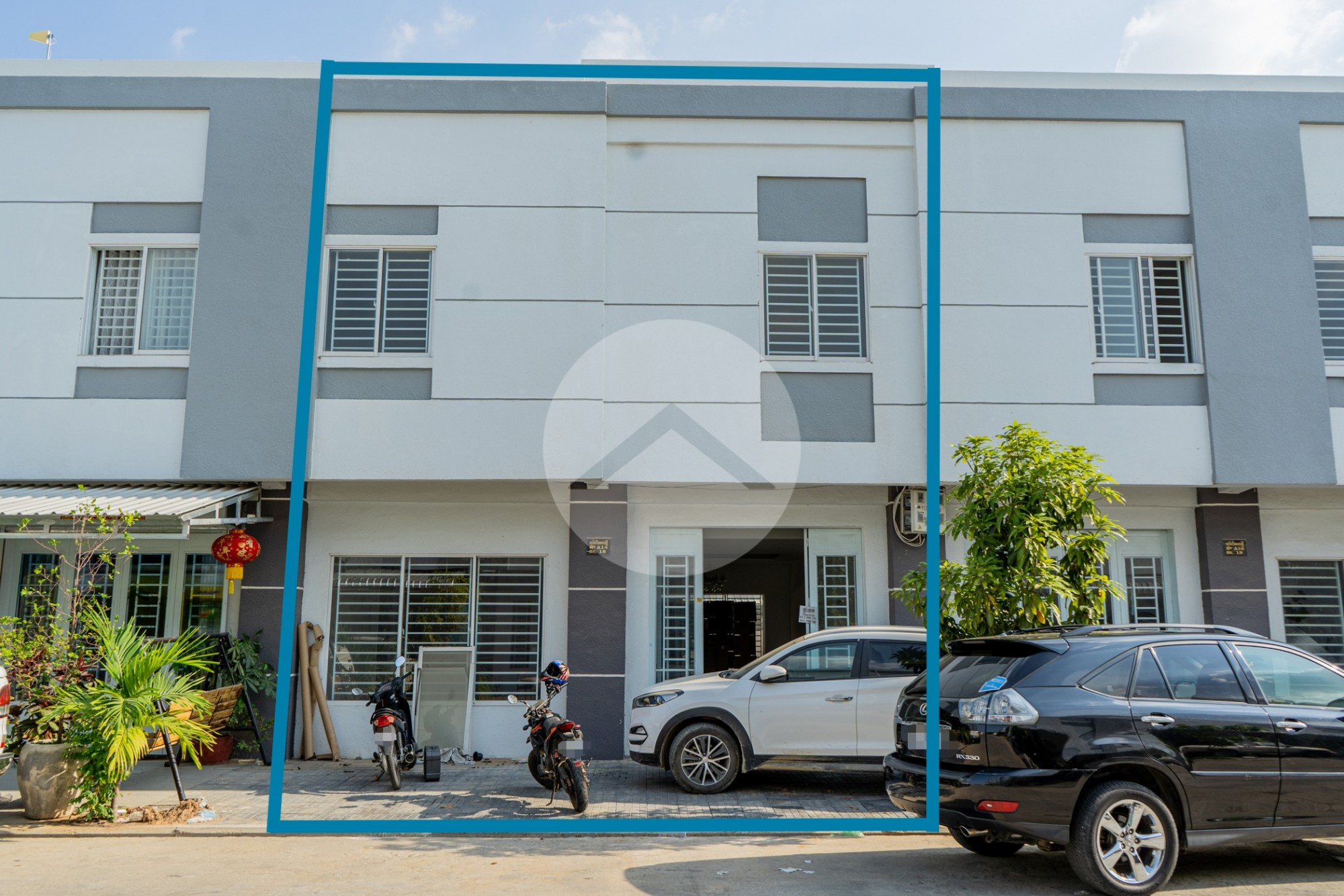 Linked House For Sale - Por Sen Chey, Phnom Penh