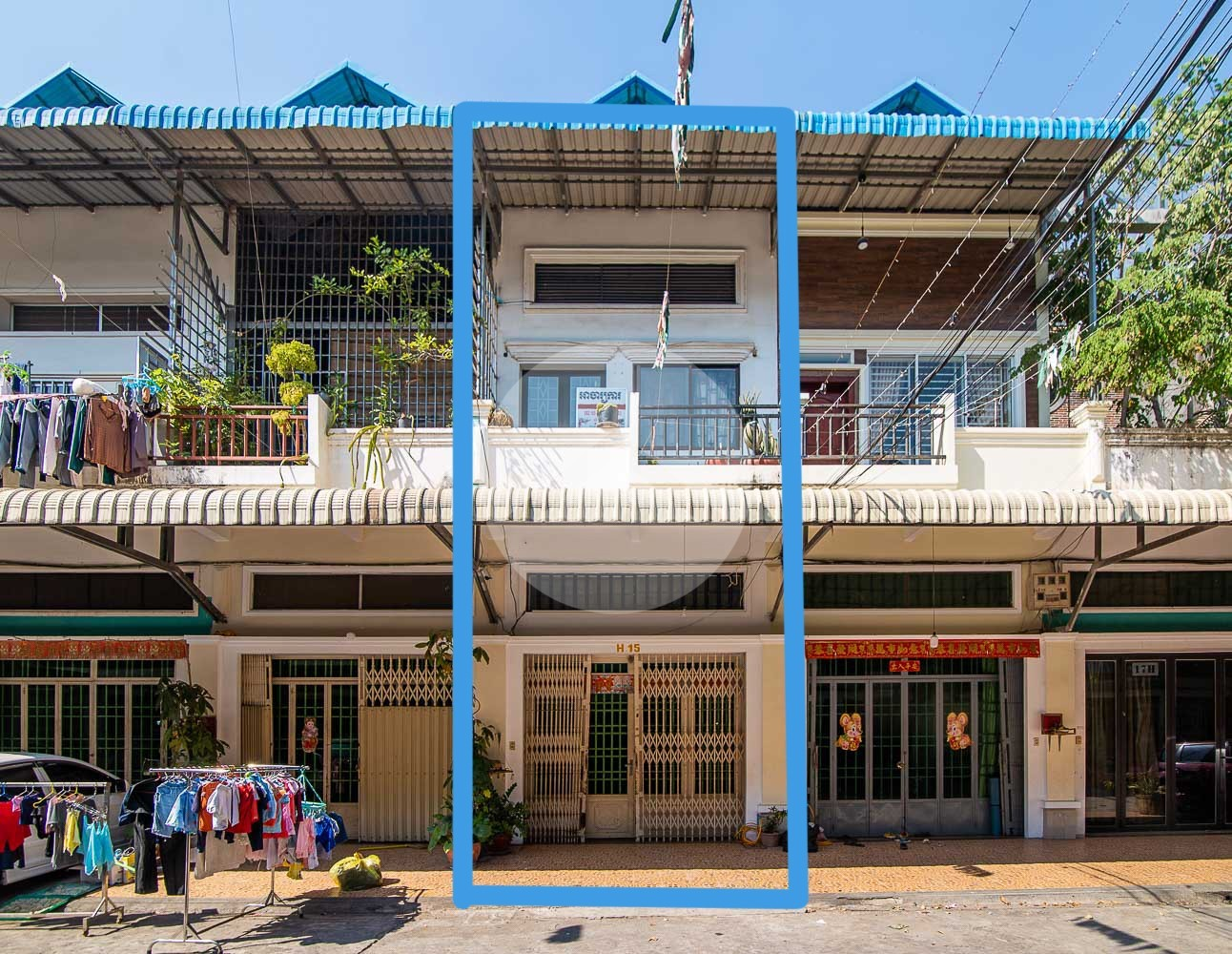 5 Bedroom Flat House For Sale - Chbar Ampov, Phnom Penh