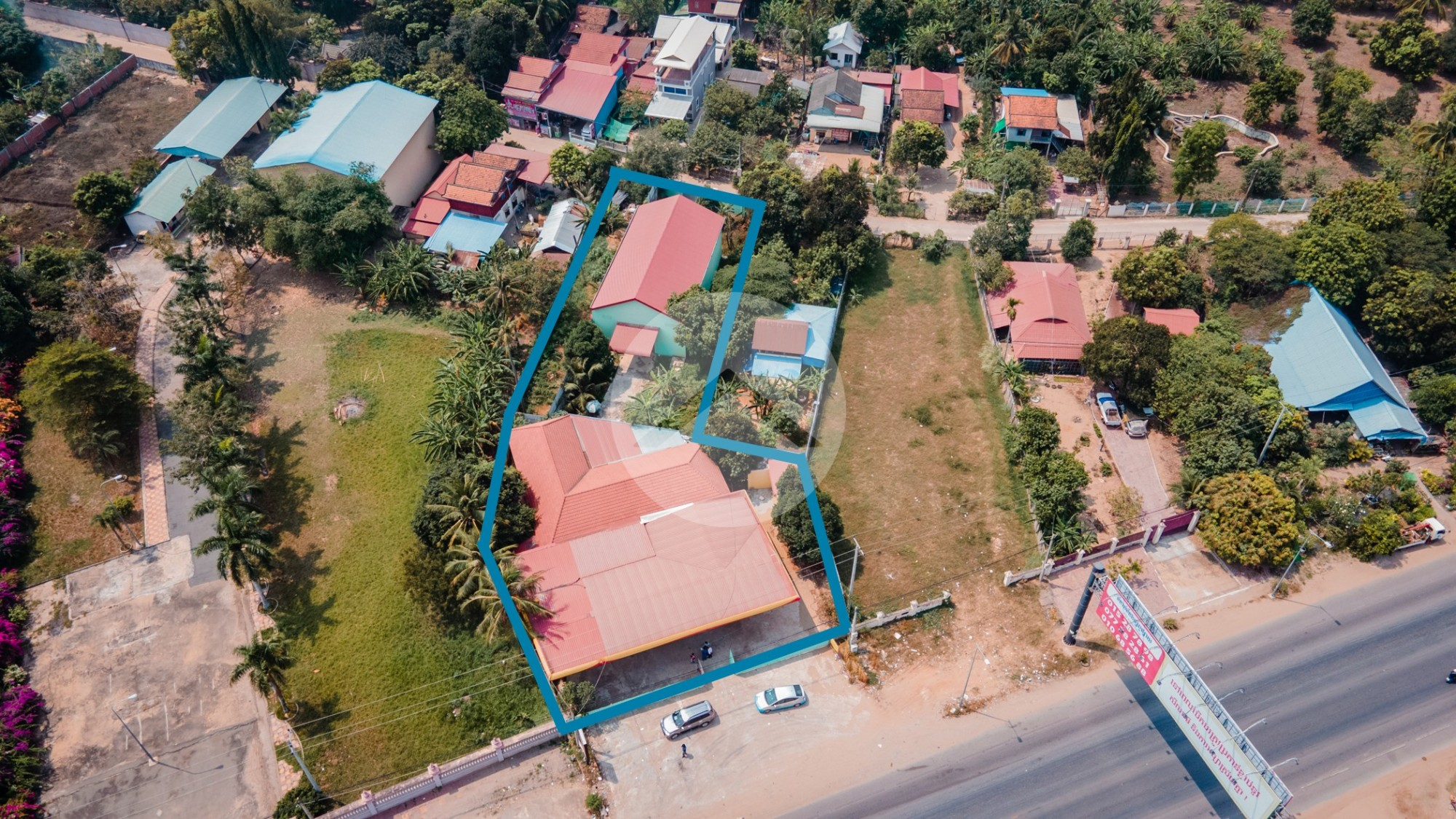 1410 Sqm Land And Warehouse For Sale - Kbal Kaoh, Khan Chbar Ampov, Phnom Penh