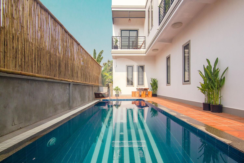 6 Unit Studio Apartment Building For Rent - Svay Dangkum, Siem Reap
