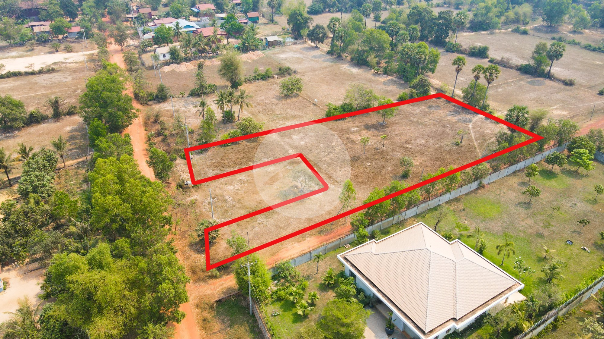 2847 Sqm Residential Land For Sale - Sambour, Siem Reap