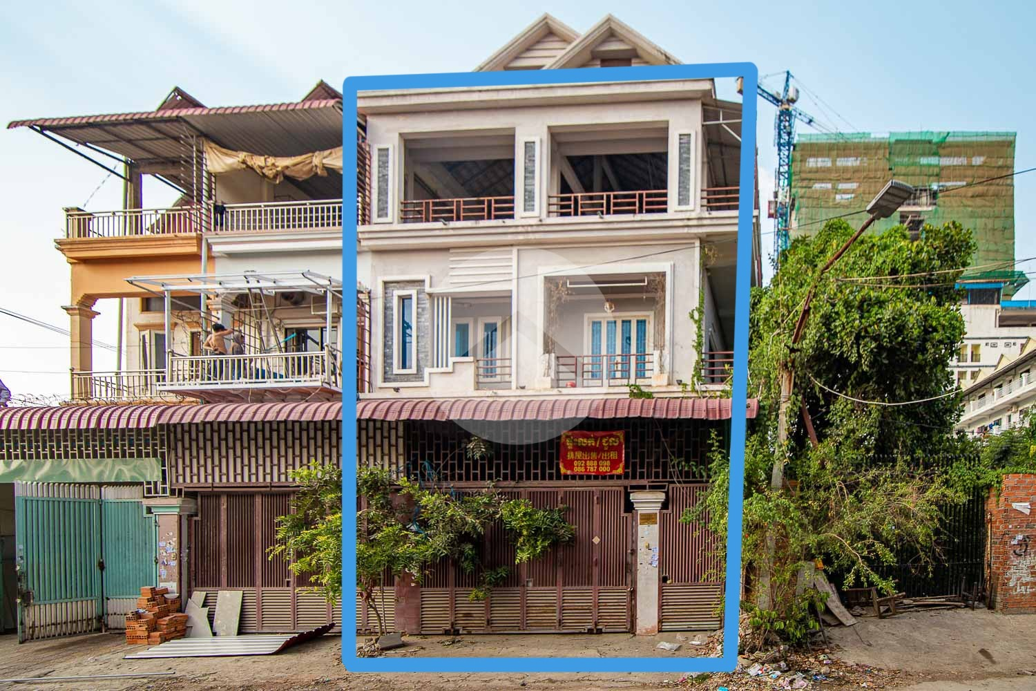 6 Bedroom Flat For Rent  - Khan Meanchey, Phnom Penh