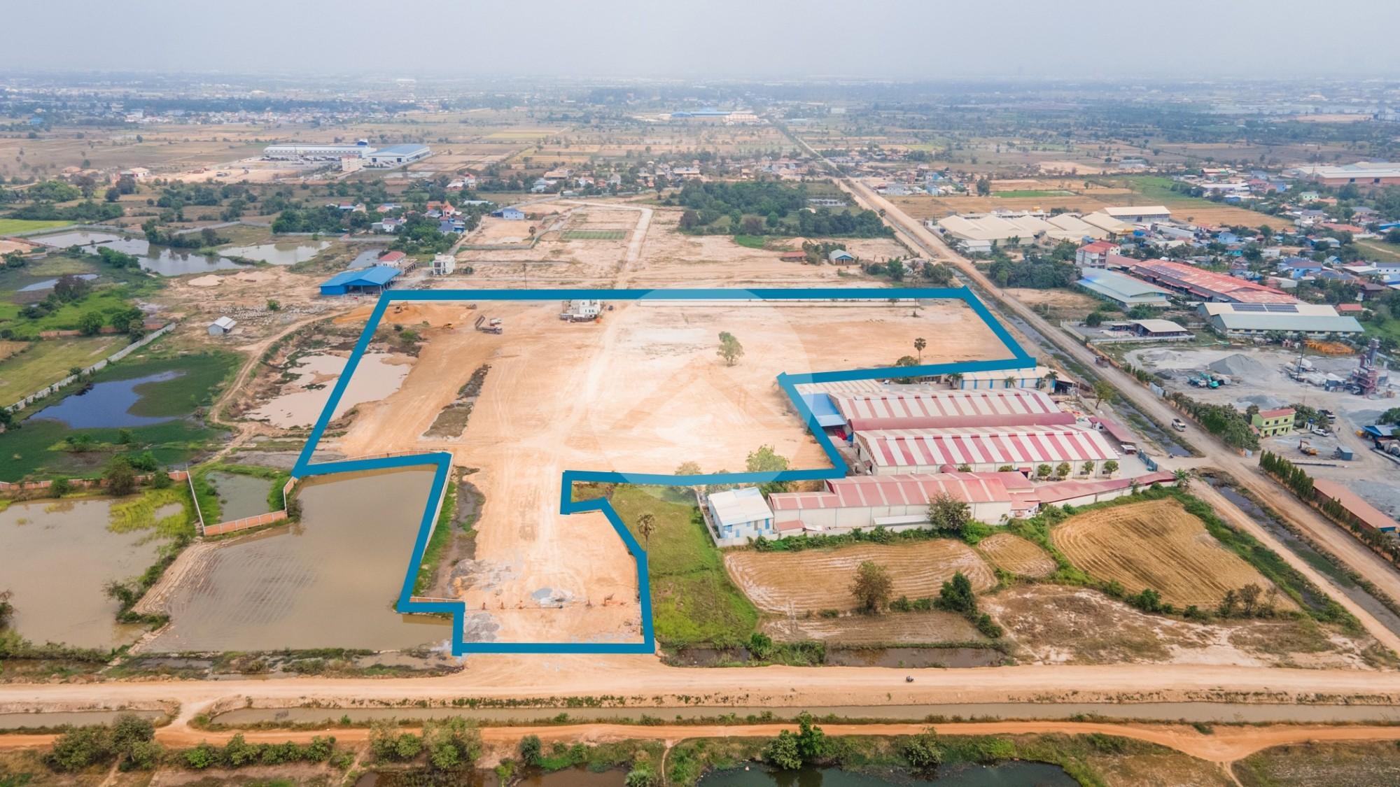 60,045 Sqm Land For Sale - Dangkao, Phnom Penh