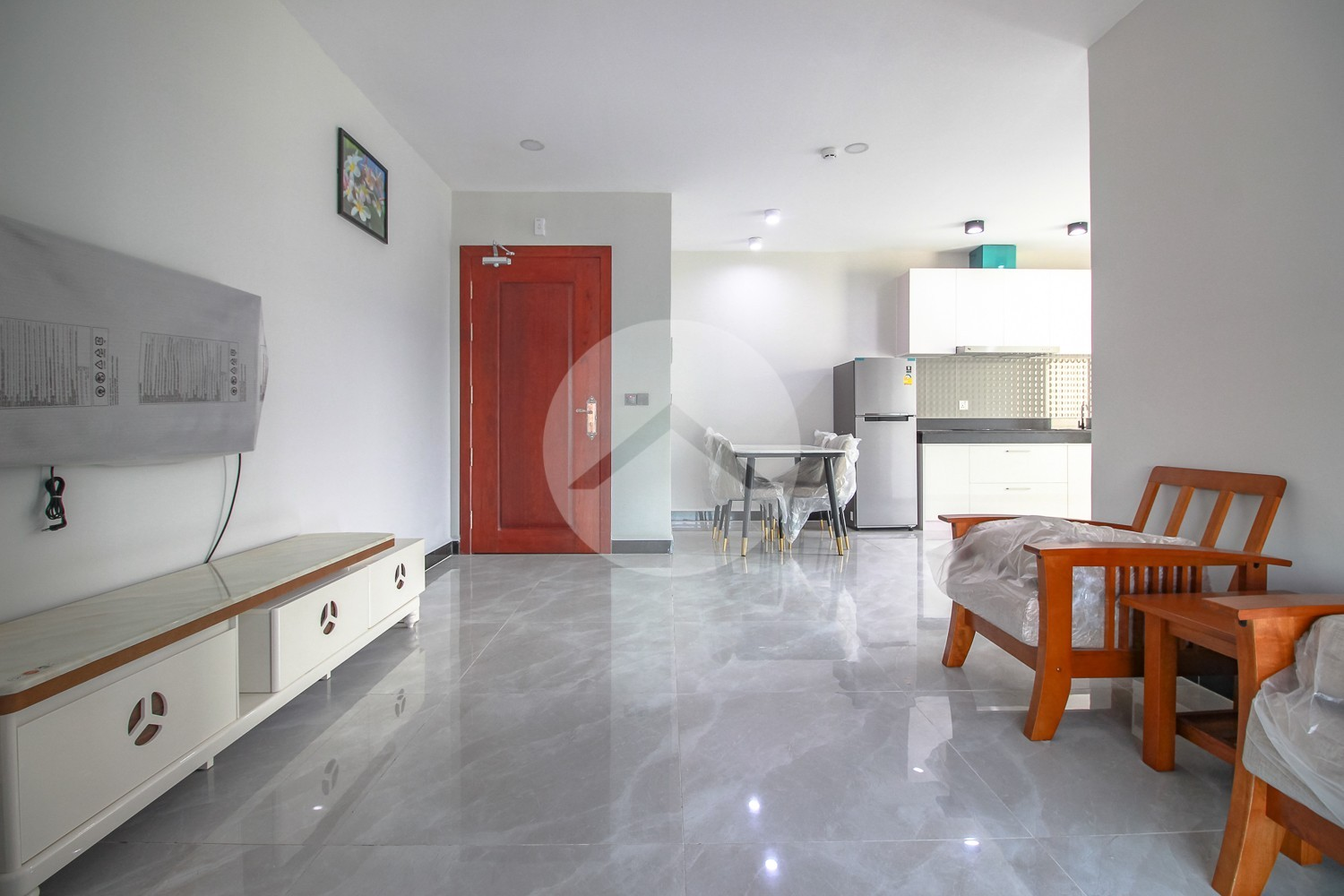 1 Bedroom Apartment For Rent - Near Olympic Market, Phnom Penh