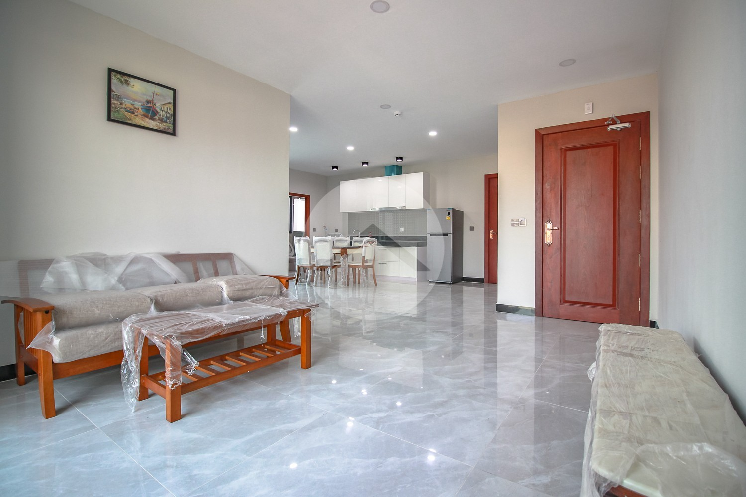 2 Bedroom Apartment For Rent - Near Olympic Market, Phnom Penh