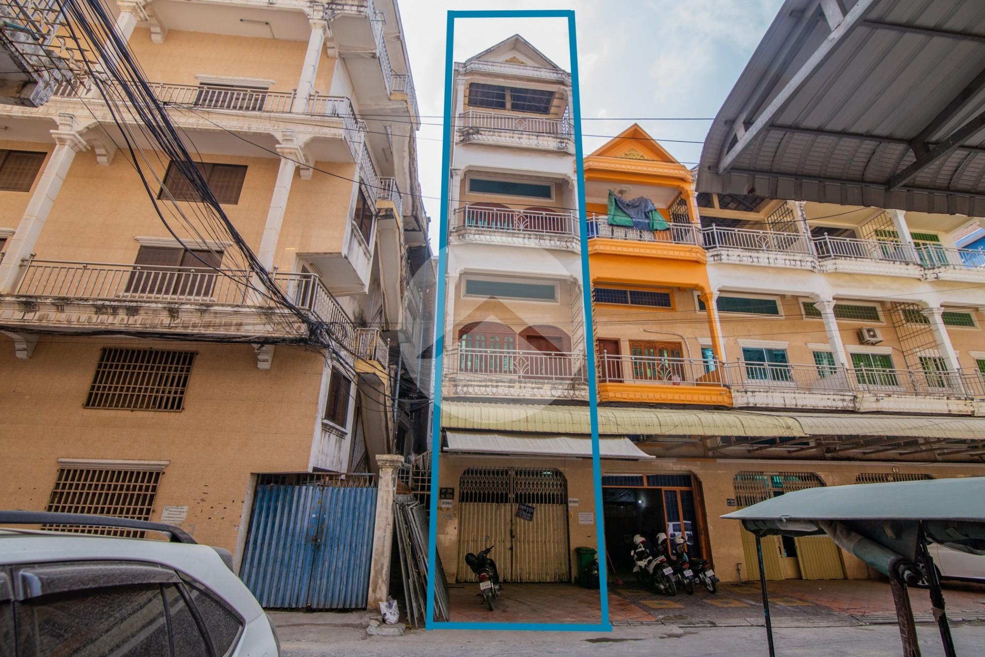 6 Bedroom Flat For Sale - Teuk Tla, Phnom Penh