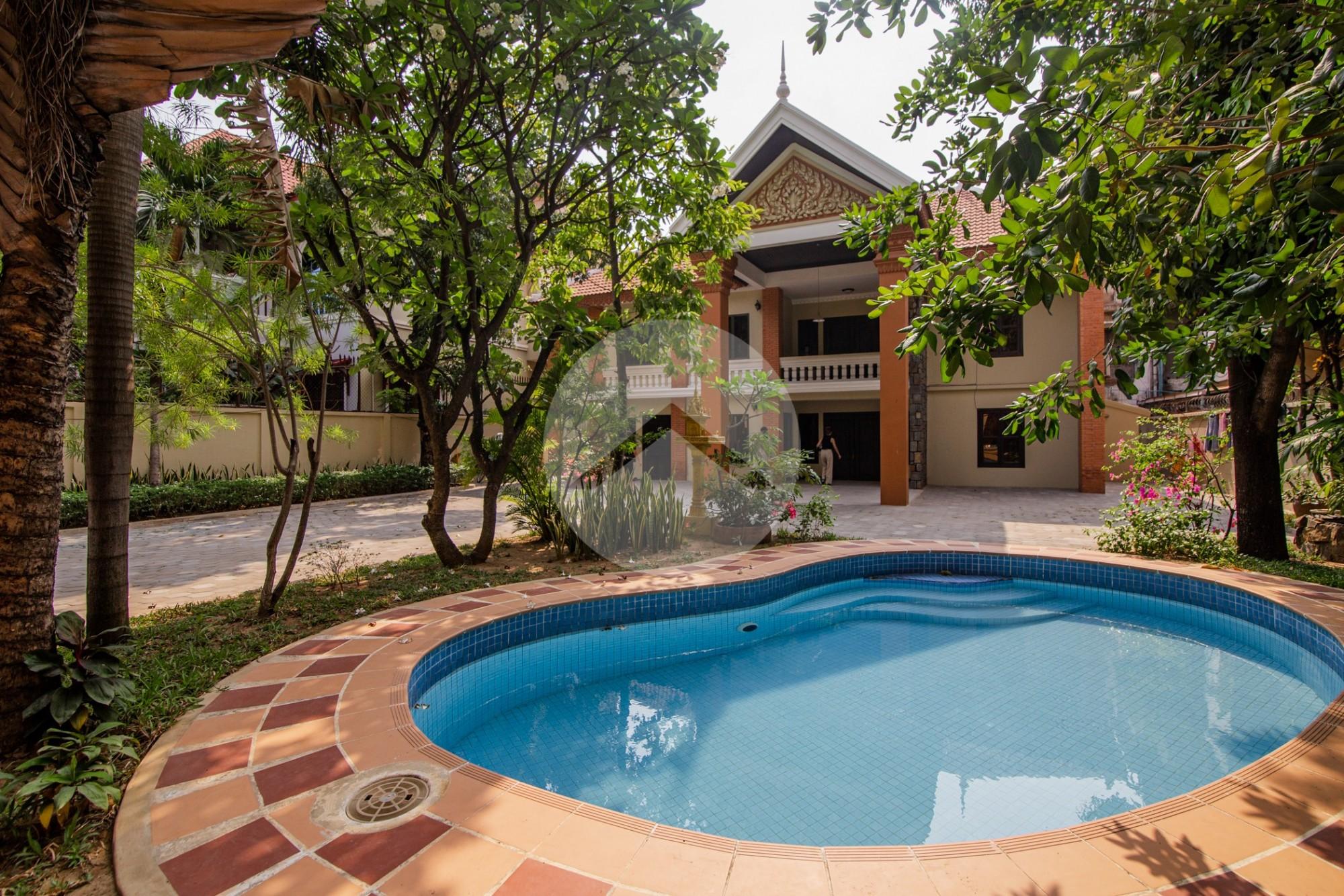 5 Bedroom Villa For Rent - Tuol Kork, Phnom Penh