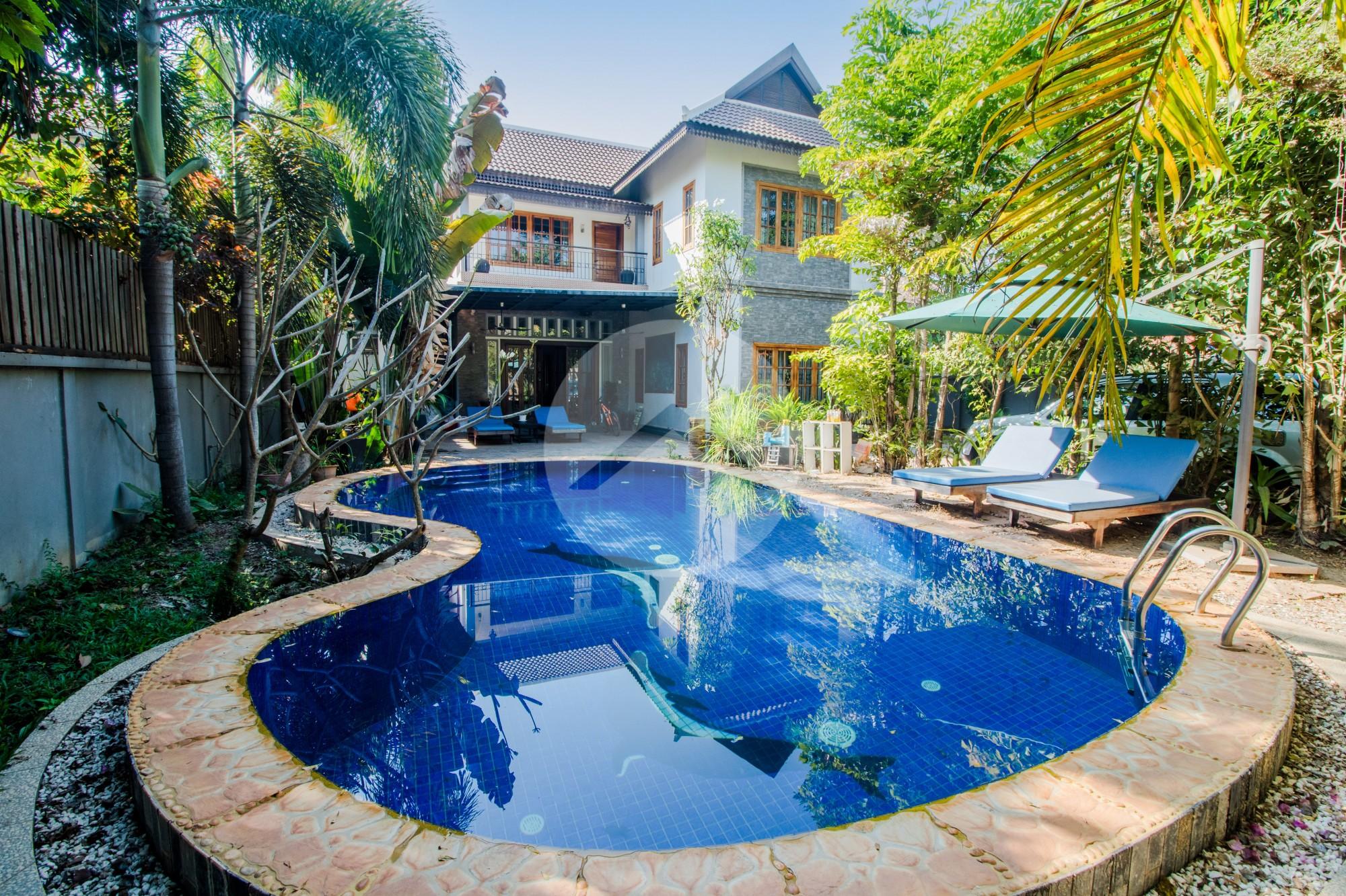 5 Bedroom Villa for Sale - Tropeng Traeng, Siem Reap
