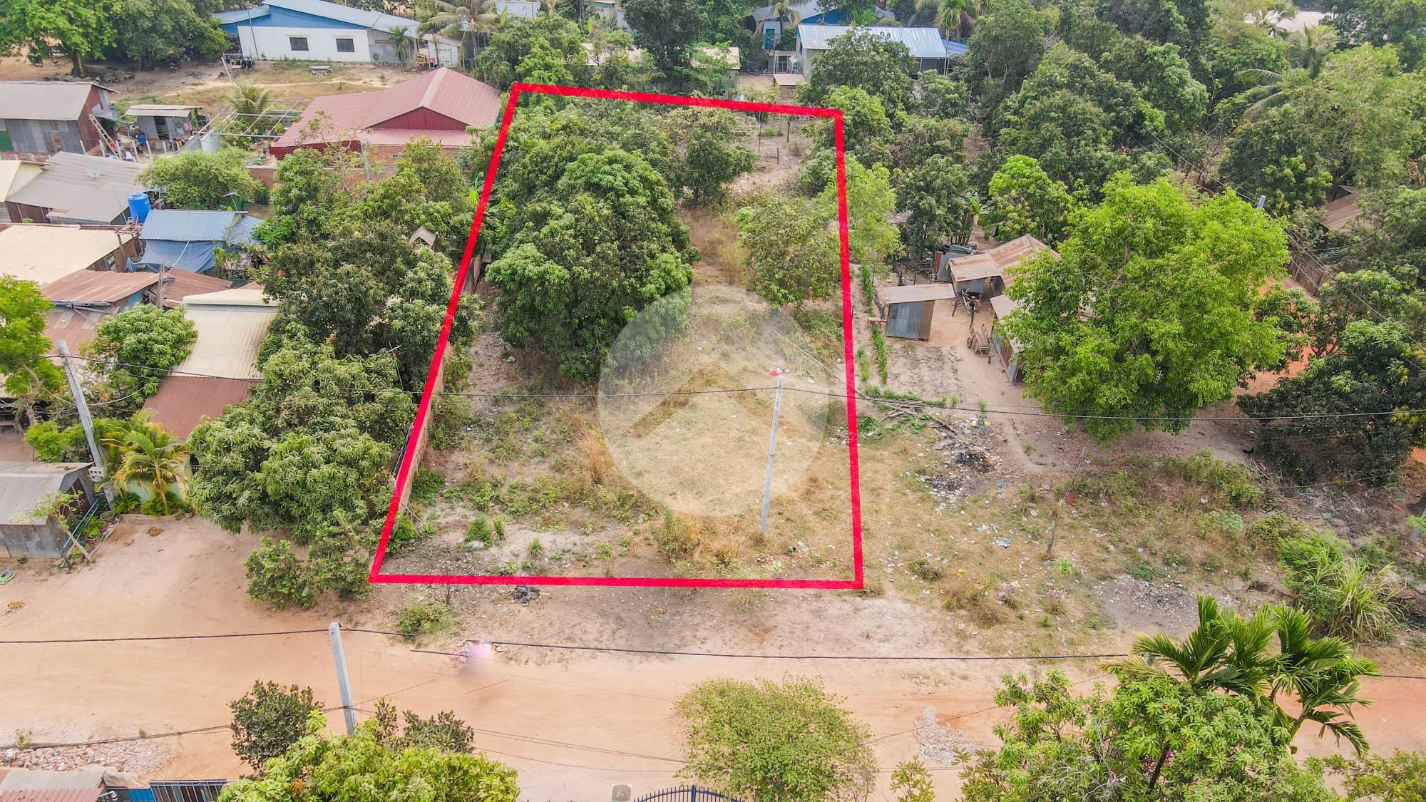 1020 Sqm Residential Land For Sale - Slor Kram, Siem Reap