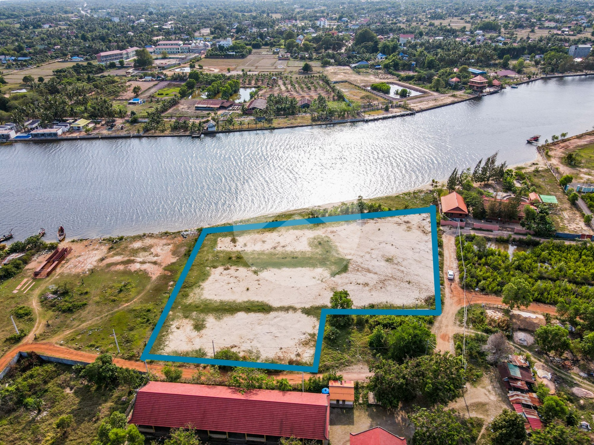 6,000 Sqm Land For Sale - Traeuy Kaoh, Kampot