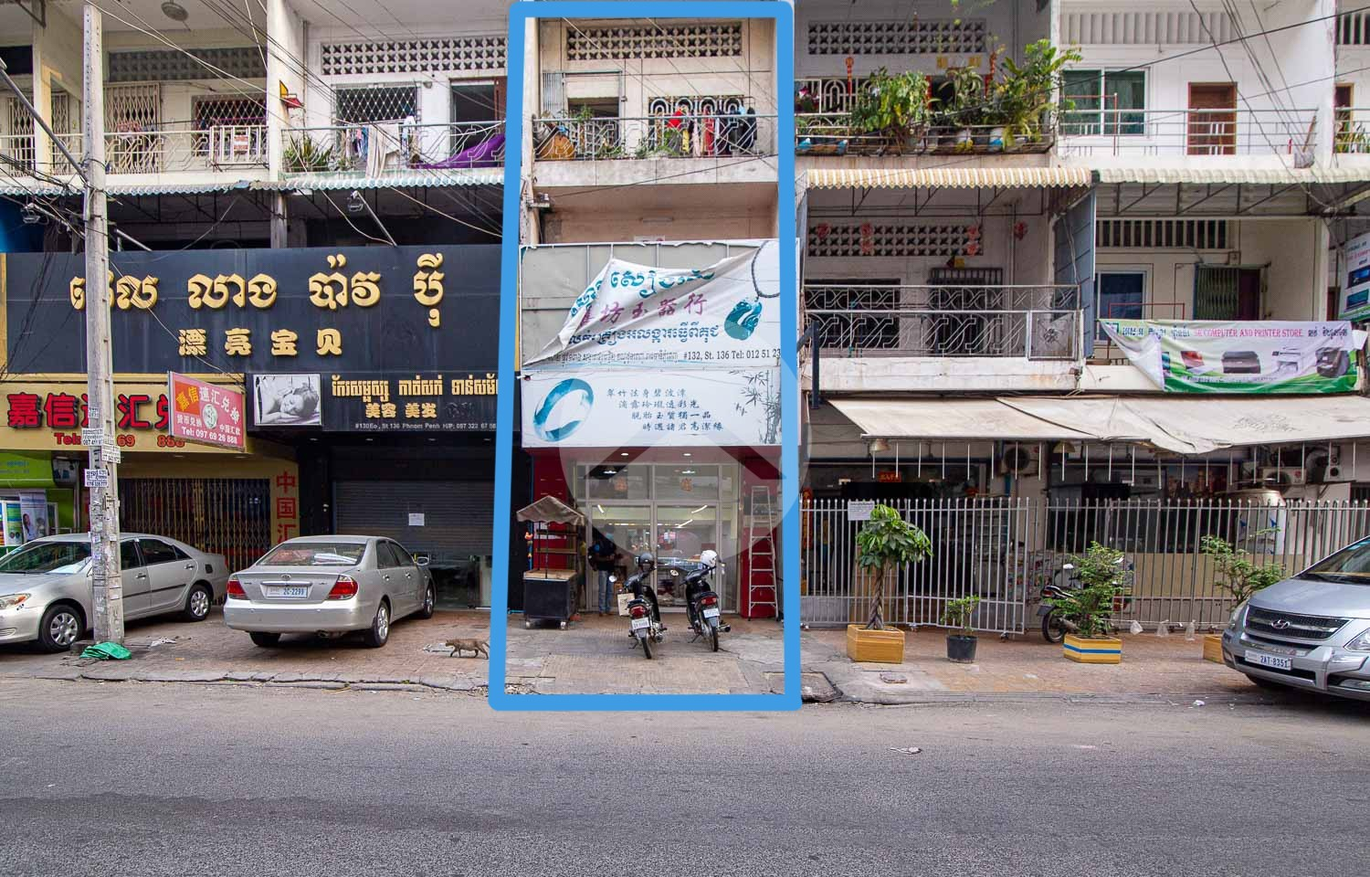 2 Bedroom Shophouse For Sale - Daun Penh, Phnom Penh