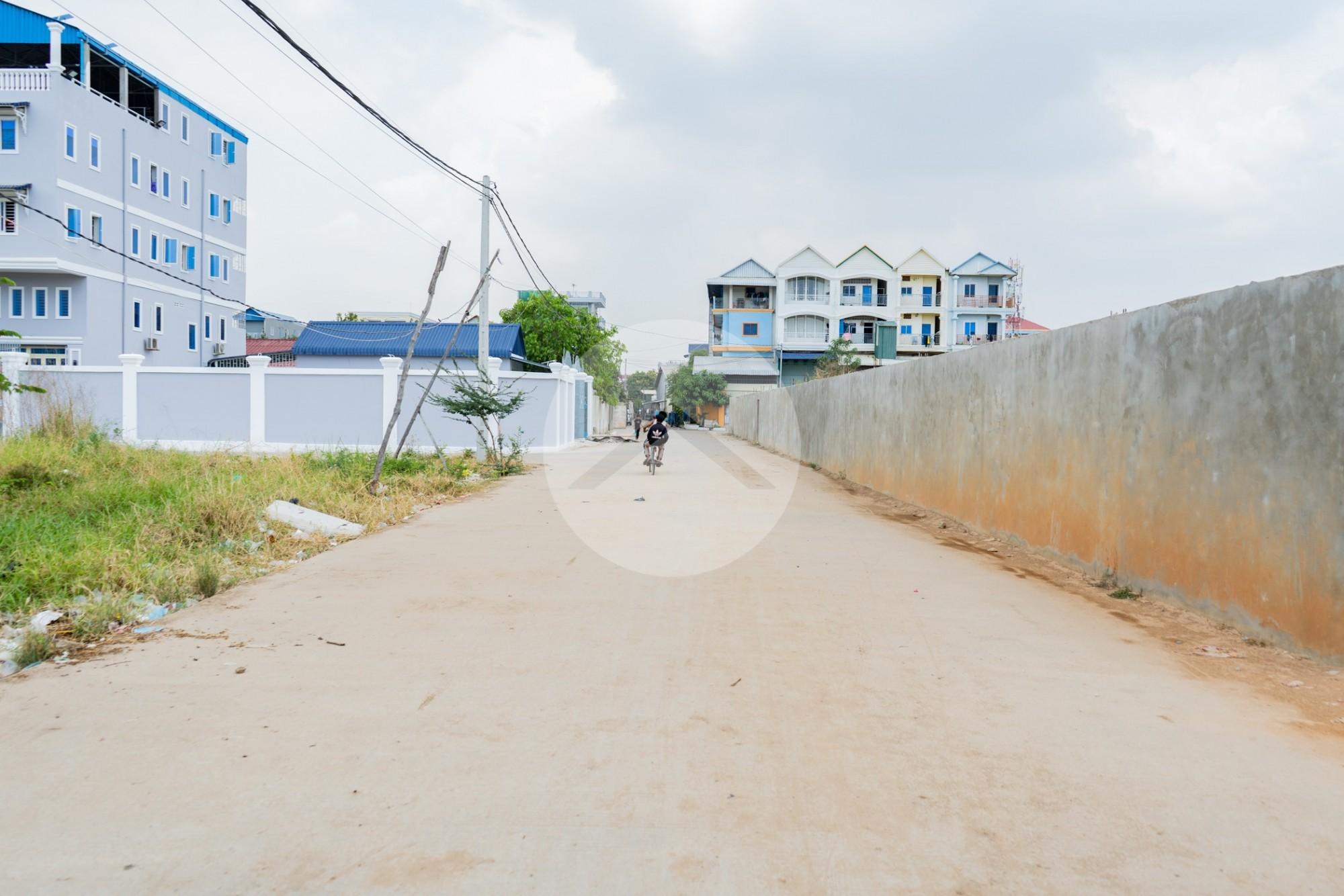 1000 Sqm Land For Rent - Teuk Thla, Sen Sok, Phnom Penh