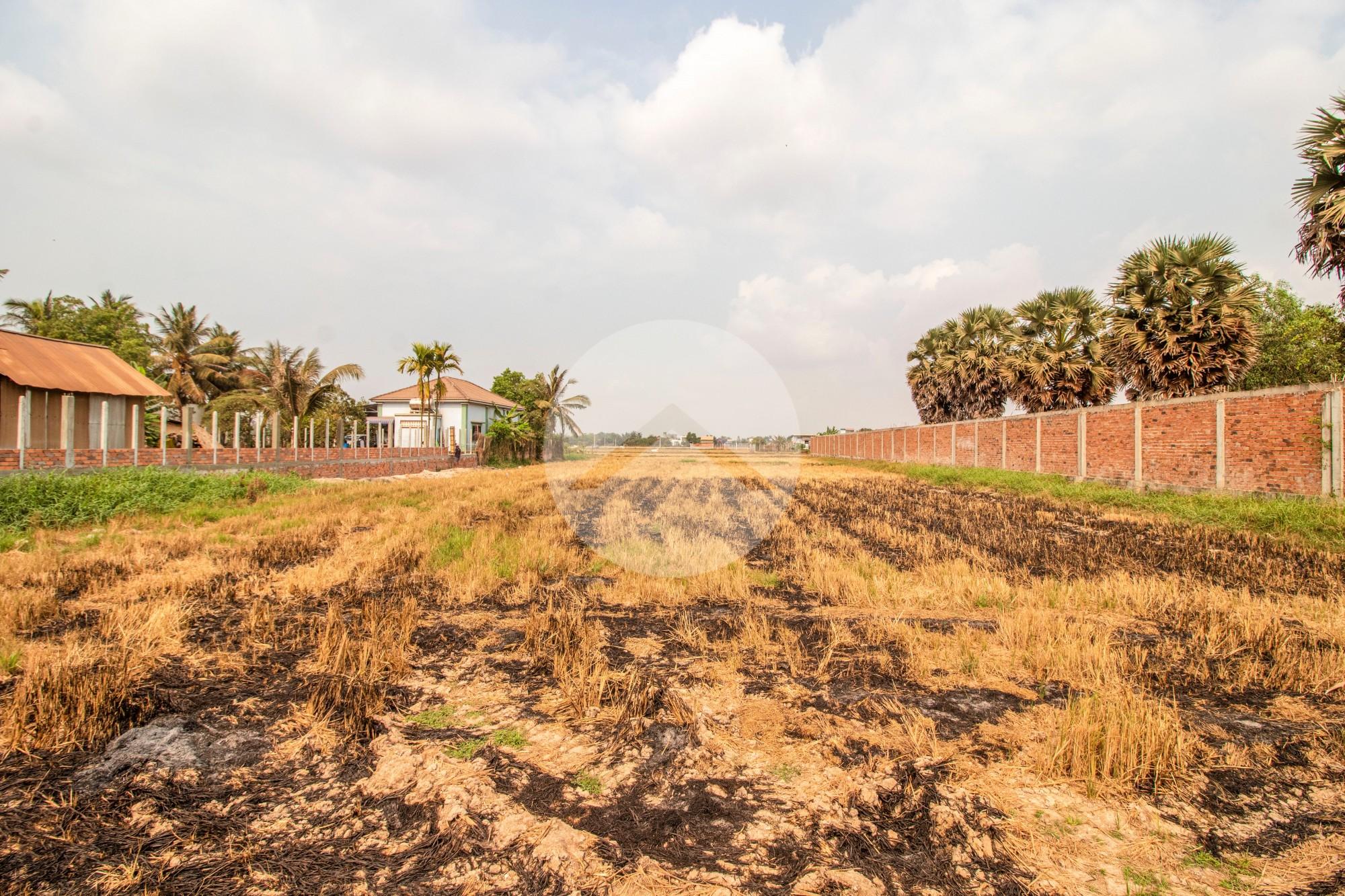 2600 Sqm Residential Land For Sale - Chreav, Siem Reap