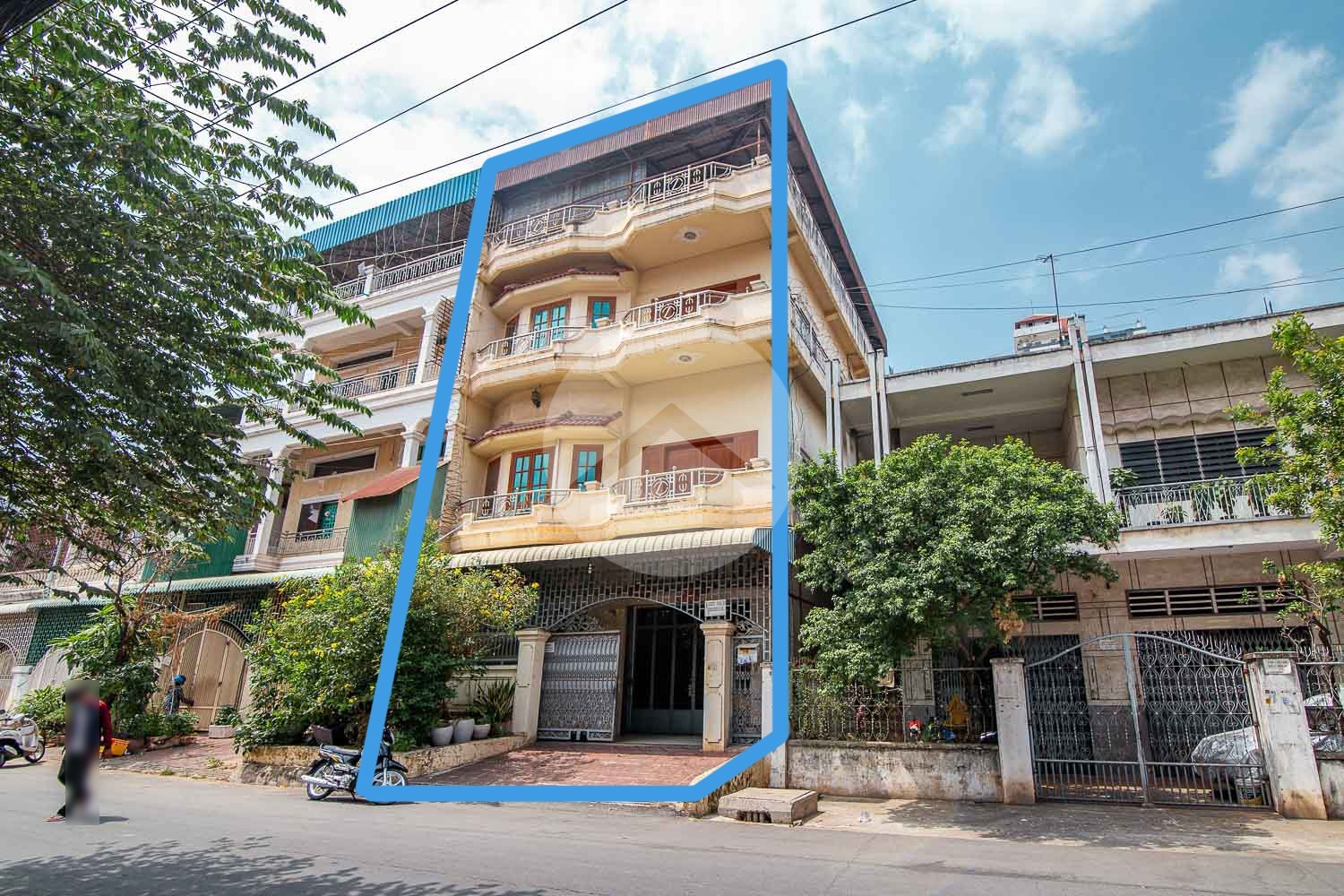 Two Shophouses For Rent - Toul Svay Prey, Phnom Penh