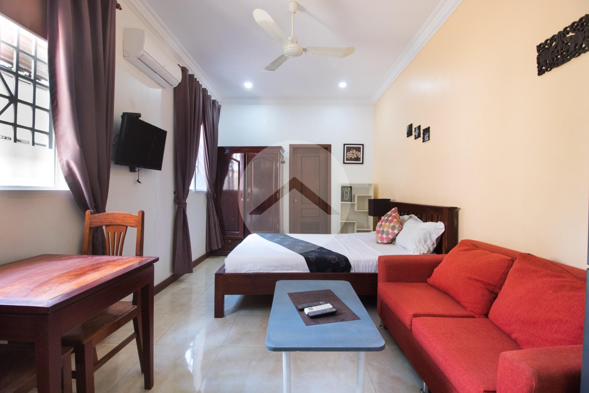1 Bed Studio Apartment For Rent - Wat Bo, Siem Reap
